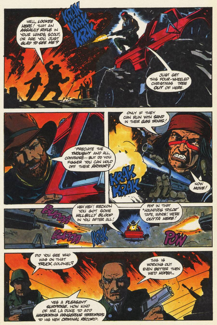 Read online Scout comic -  Issue #9 - 19