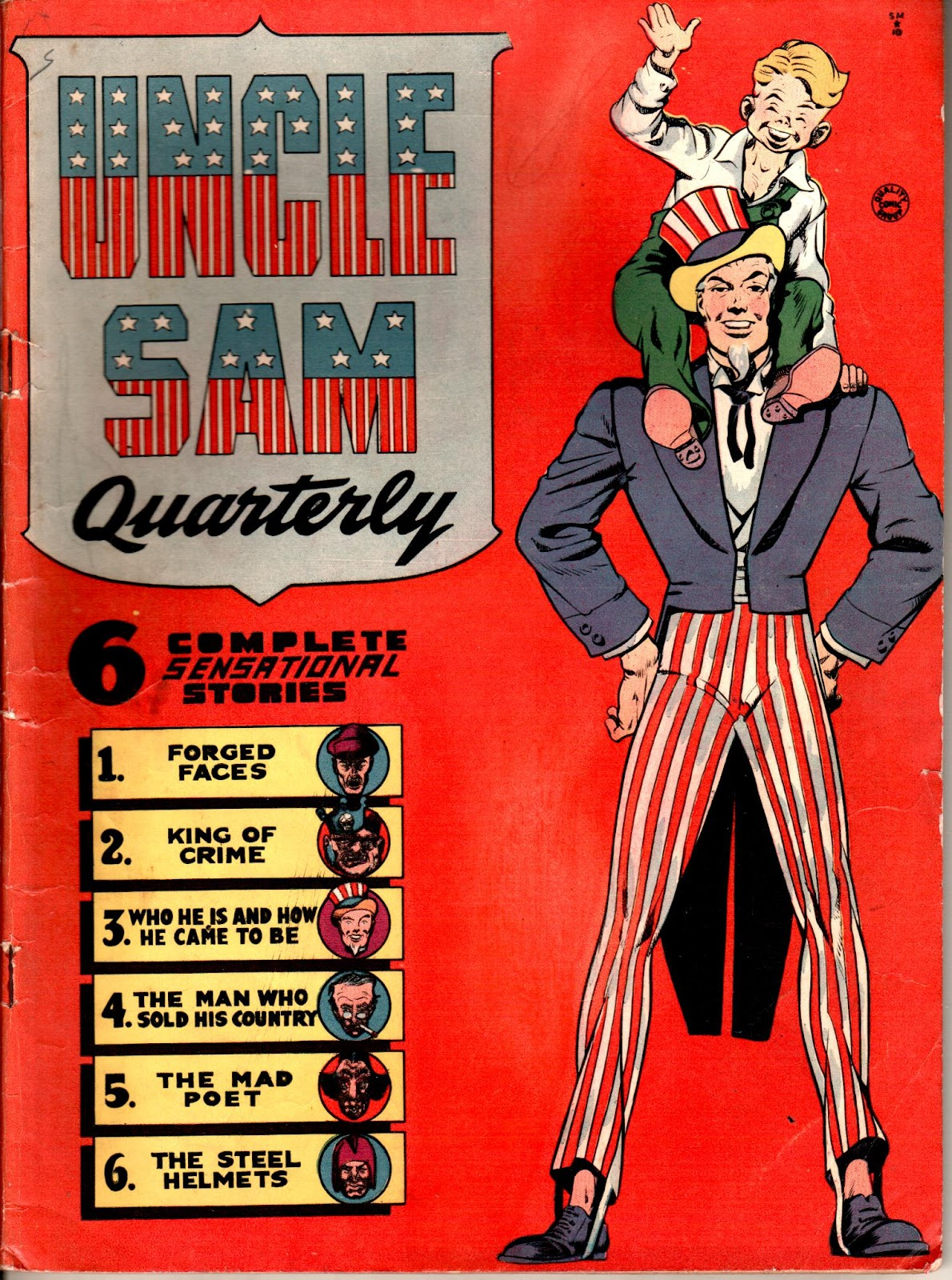 Uncle Sam Quarterly issue 1 - Page 1