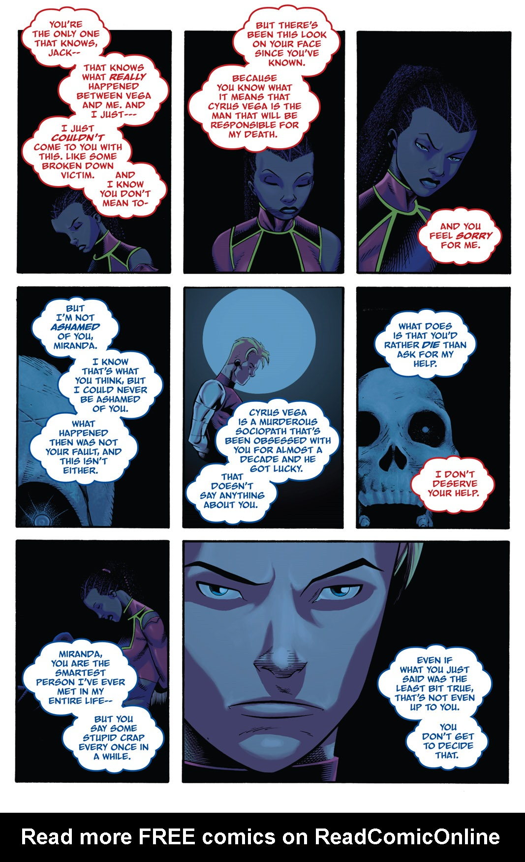 Read online The Many Adventures of Miranda Mercury: Time Runs Out comic -  Issue # TPB - 129