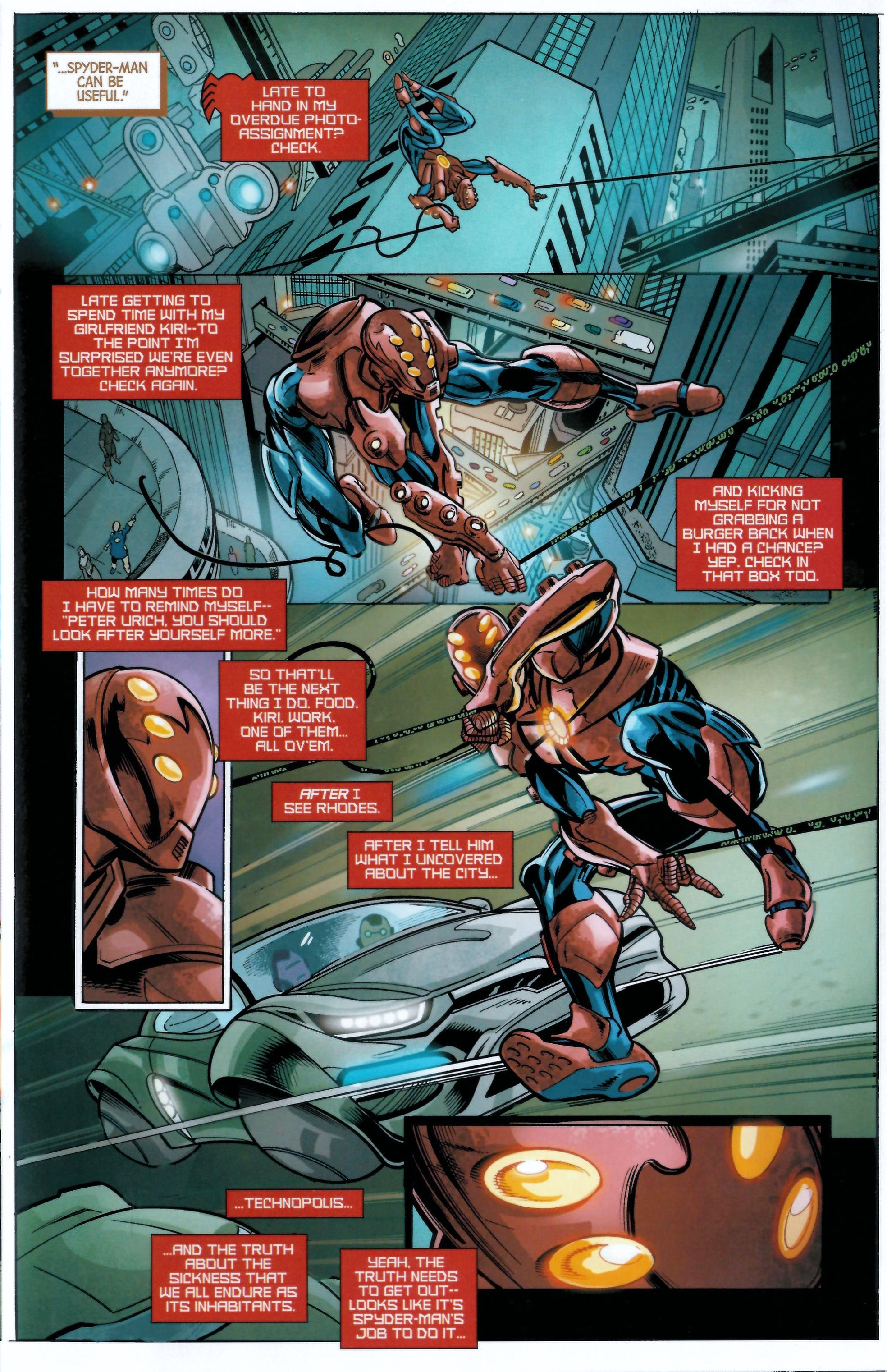 Read online Armor Wars comic -  Issue #0.5 - 12