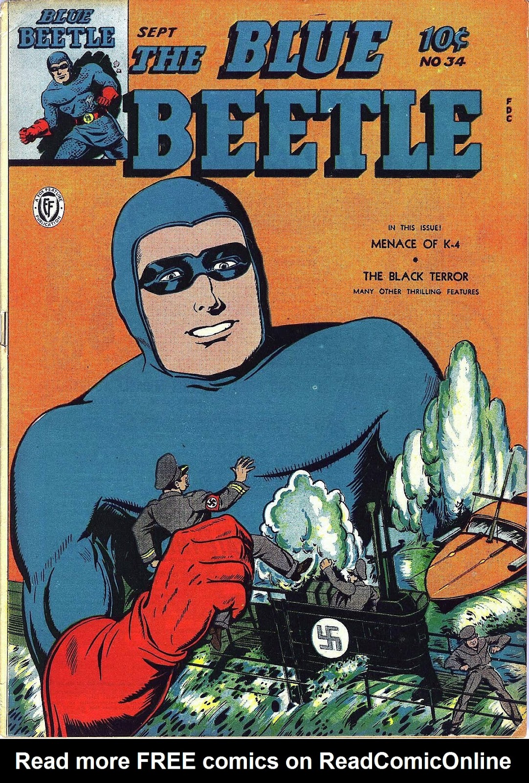 The Blue Beetle issue 34 - Page 1