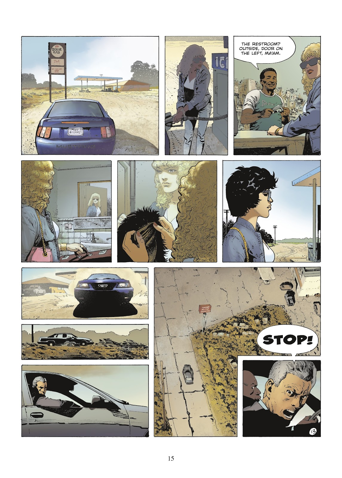 XIII Mystery issue 9 - Page 17
