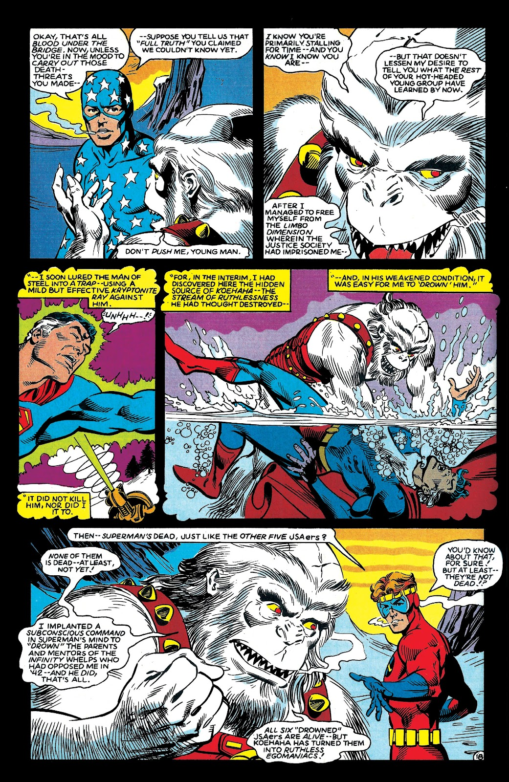 Infinity Inc. (1984) issue 6 - Page 19