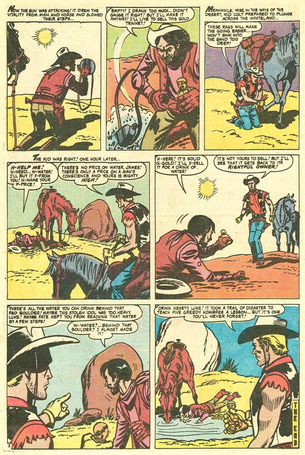 Kid Colt Outlaw issue 141 - Page 16