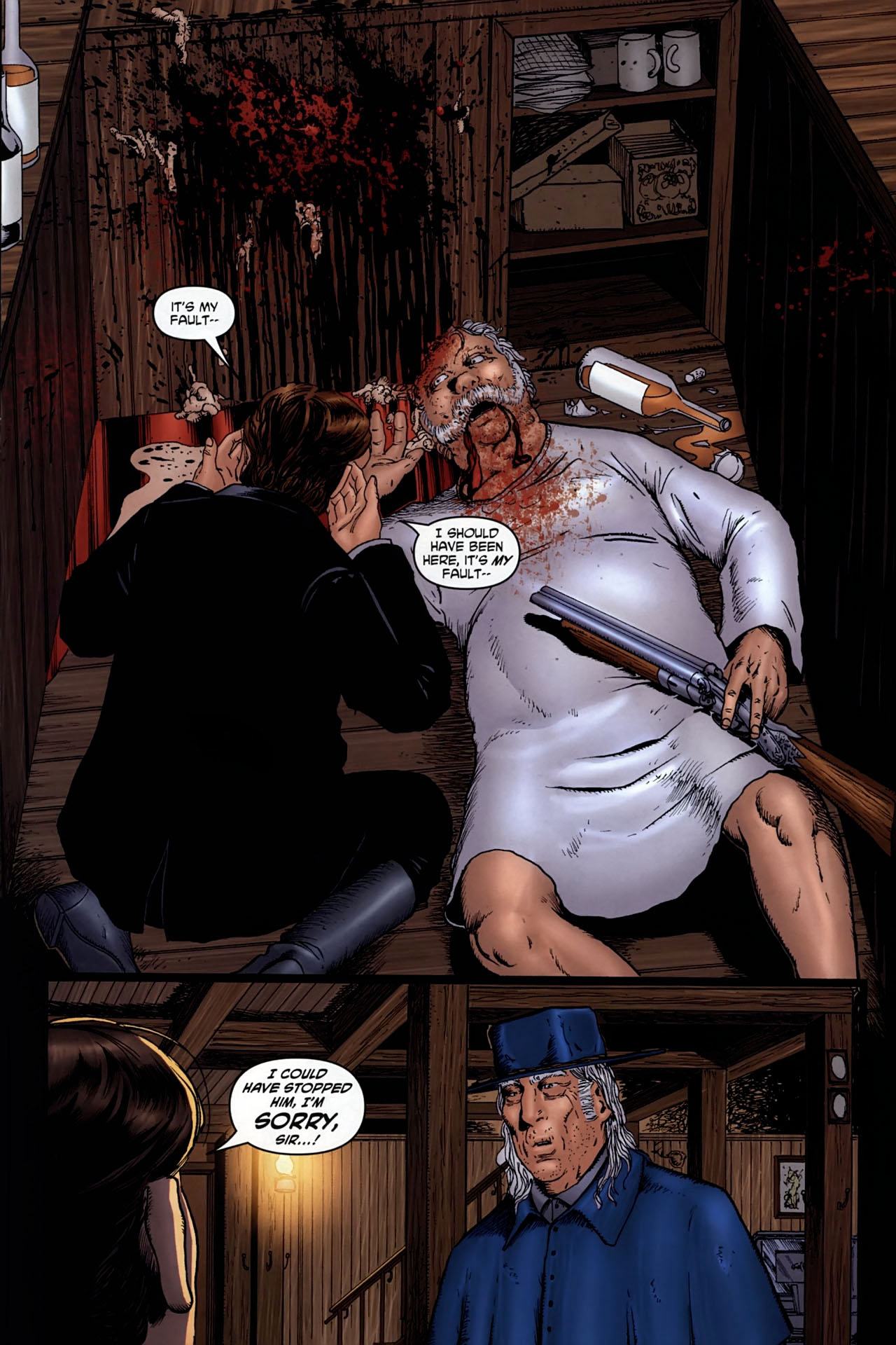 Read online Garth Ennis' Streets of Glory comic -  Issue #6 - 16