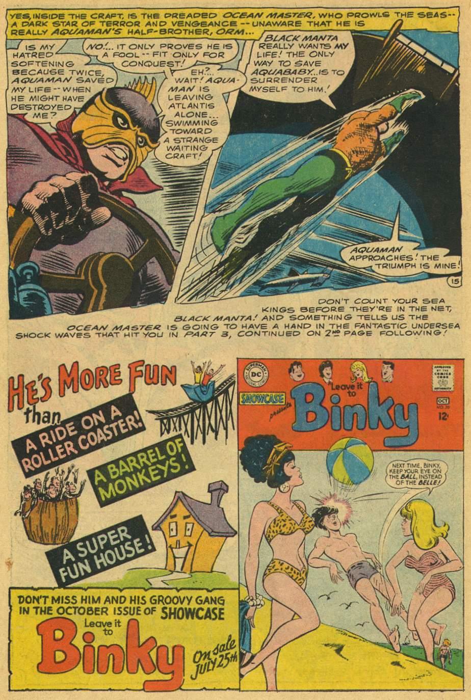 Read online Aquaman (1962) comic -  Issue #35 - 22