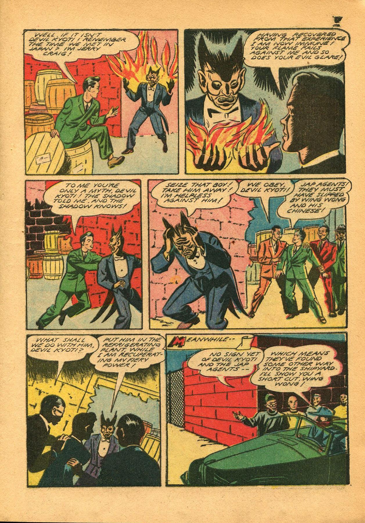 Read online Shadow Comics comic -  Issue #23 - 17