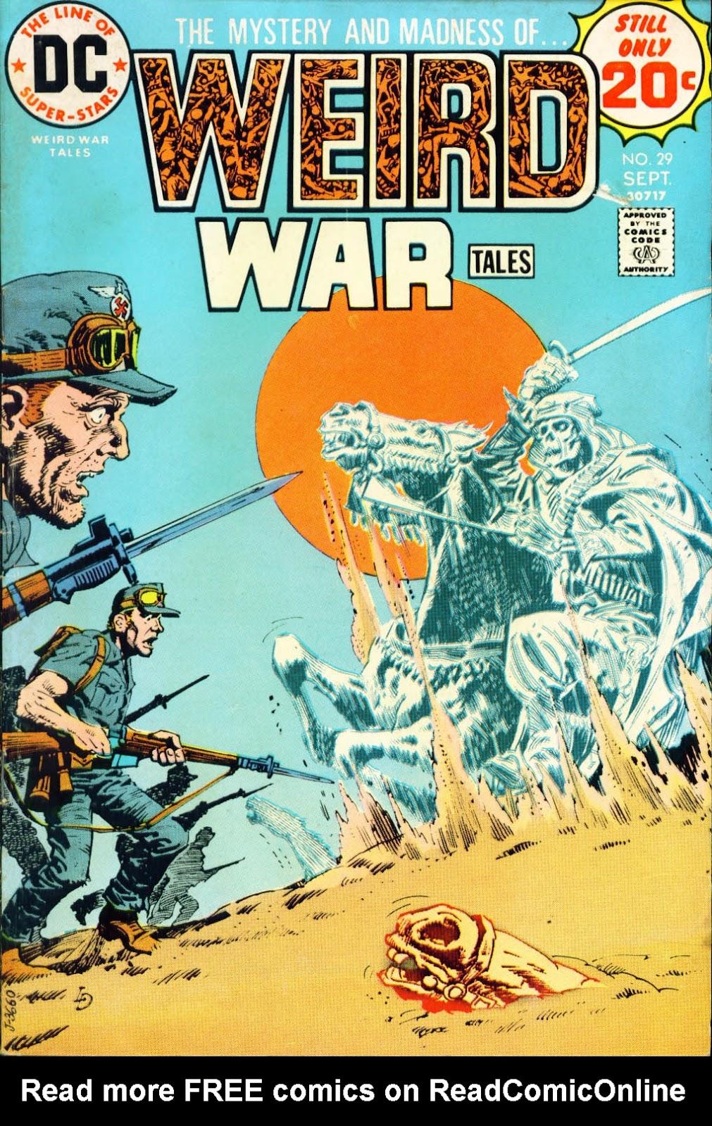 Weird War Tales (1971) issue 29 - Page 1
