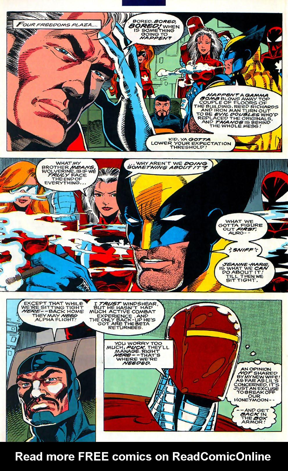 Read online Alpha Flight (1983) comic -  Issue #110 - 17