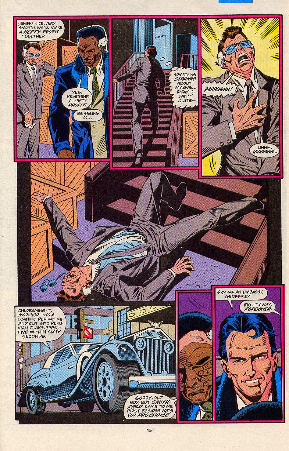 Read online Silver Sable and the Wild Pack comic -  Issue #3 - 13