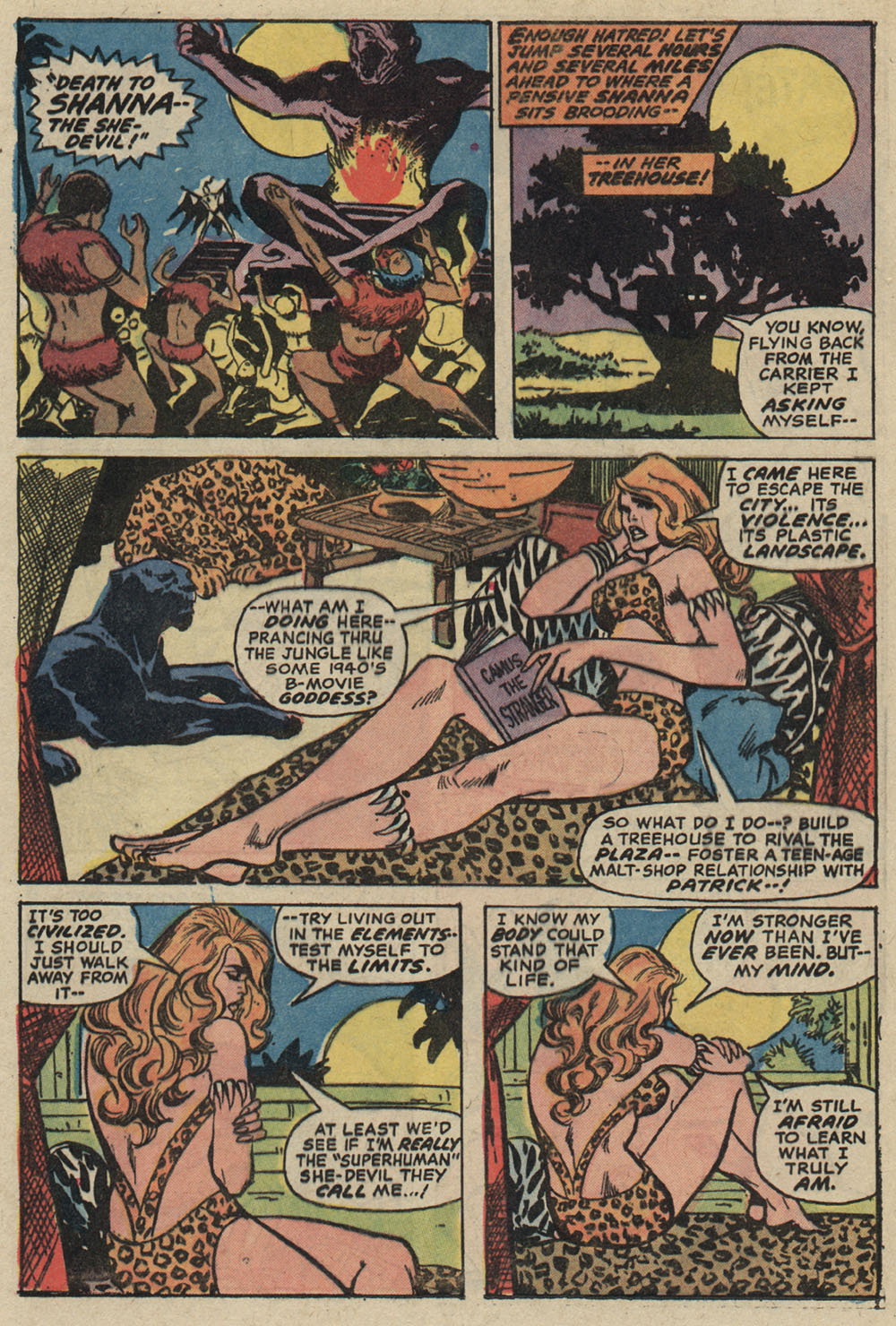 Read online Shanna, the She-Devil (1972) comic -  Issue #5 - 14