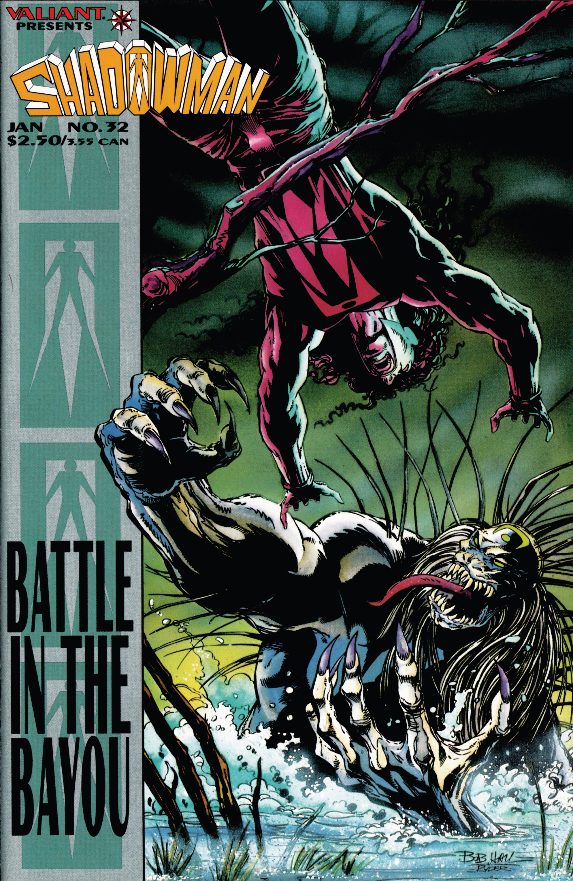 Read online Shadowman (1992) comic -  Issue #32 - 1