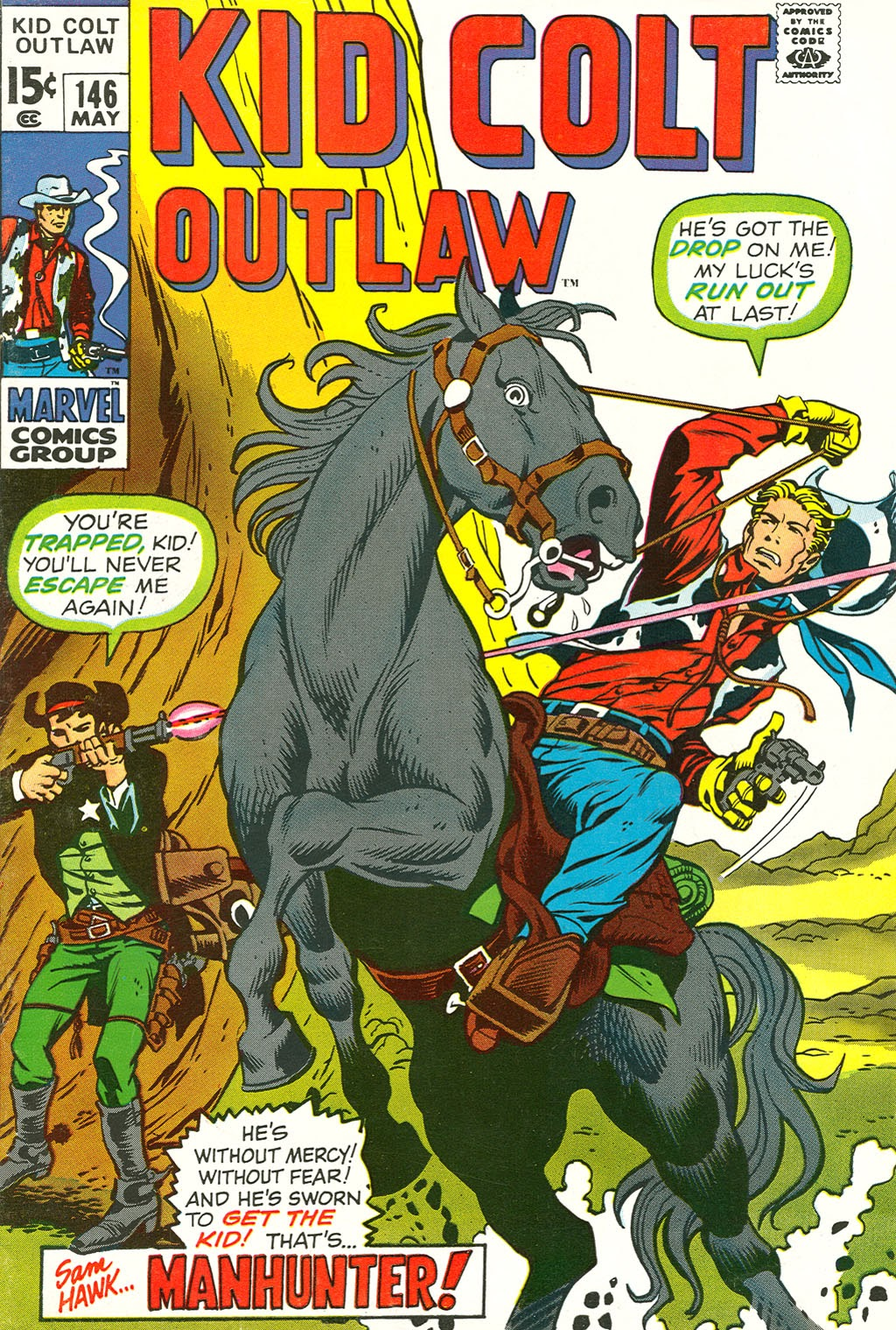 Kid Colt Outlaw issue 146 - Page 1