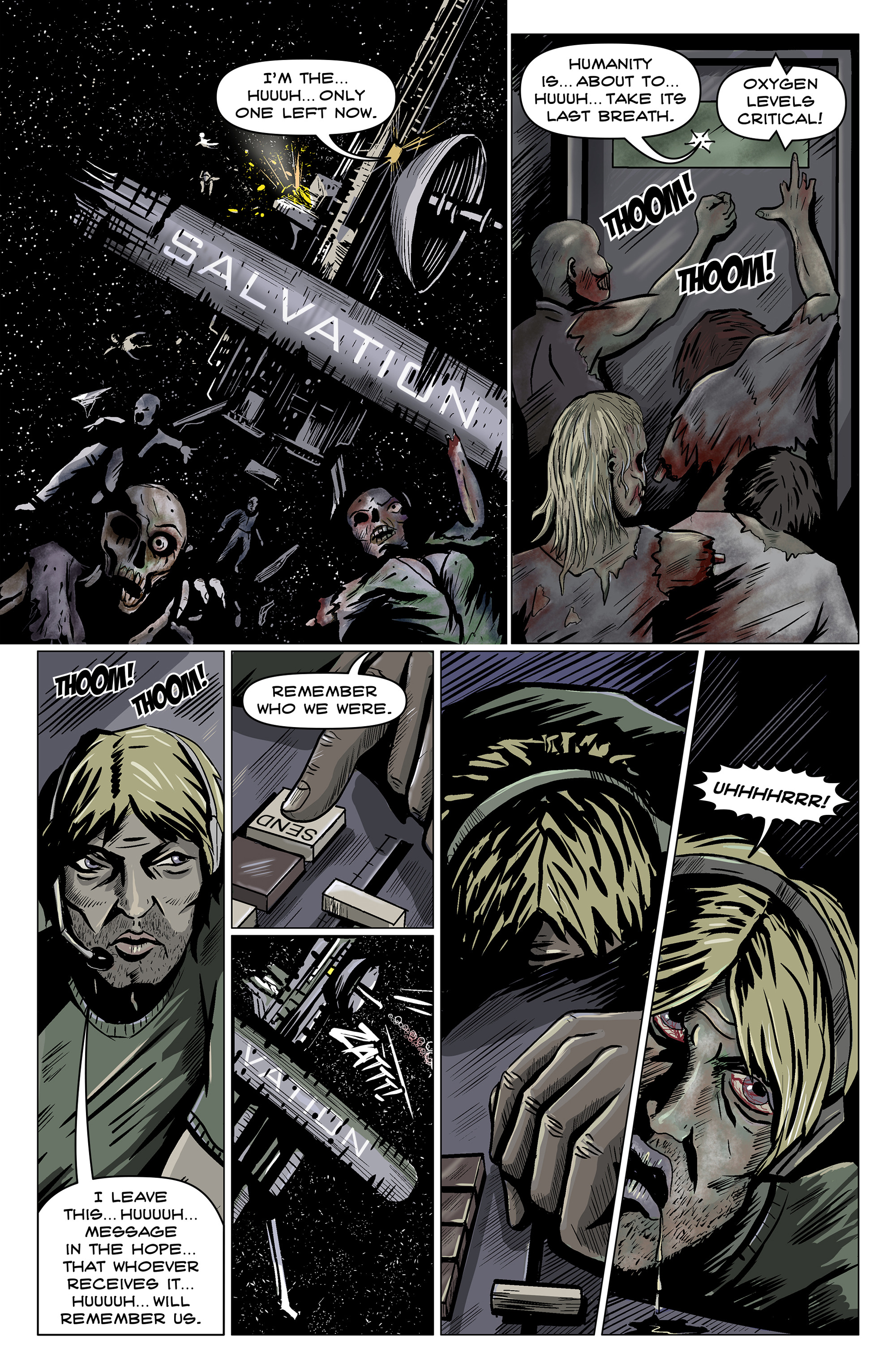Read online 100% Biodegradable comic -  Issue #14 - 28