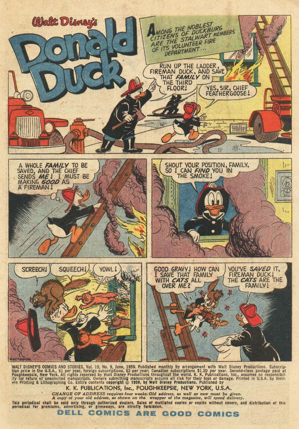 Walt Disney's Comics and Stories issue 225 - Page 2