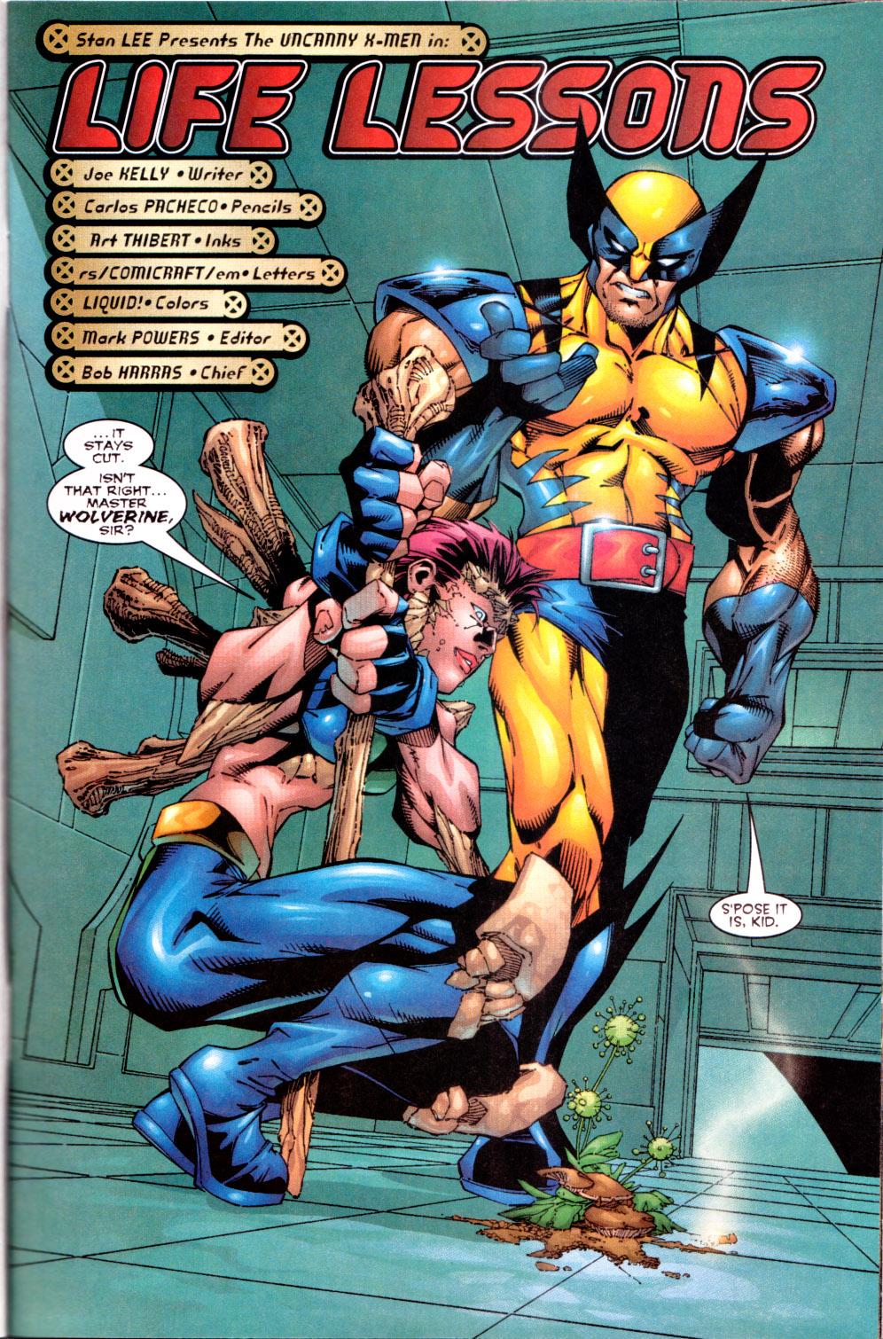 X-Men (1991) 72 Page 3