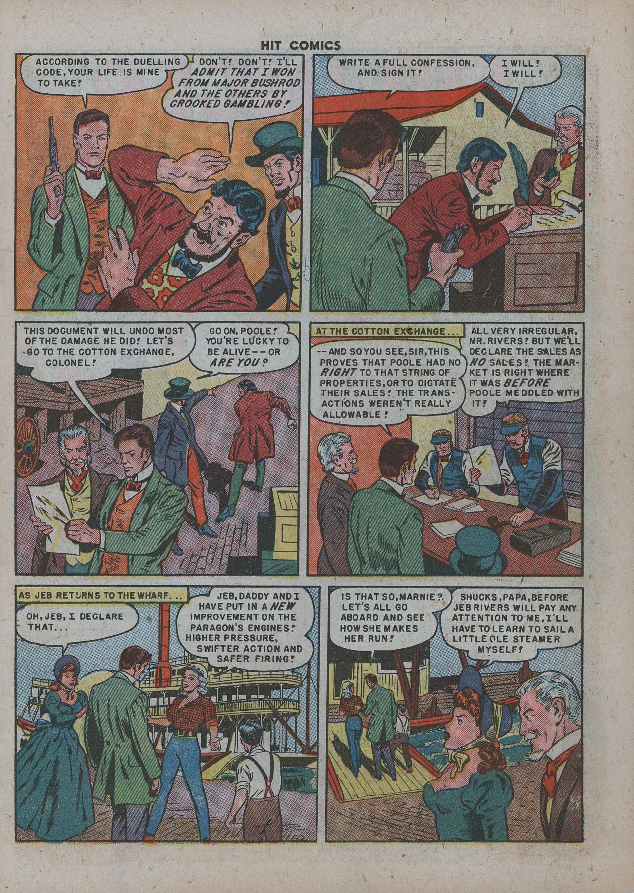 Read online Hit Comics comic -  Issue #63 - 15