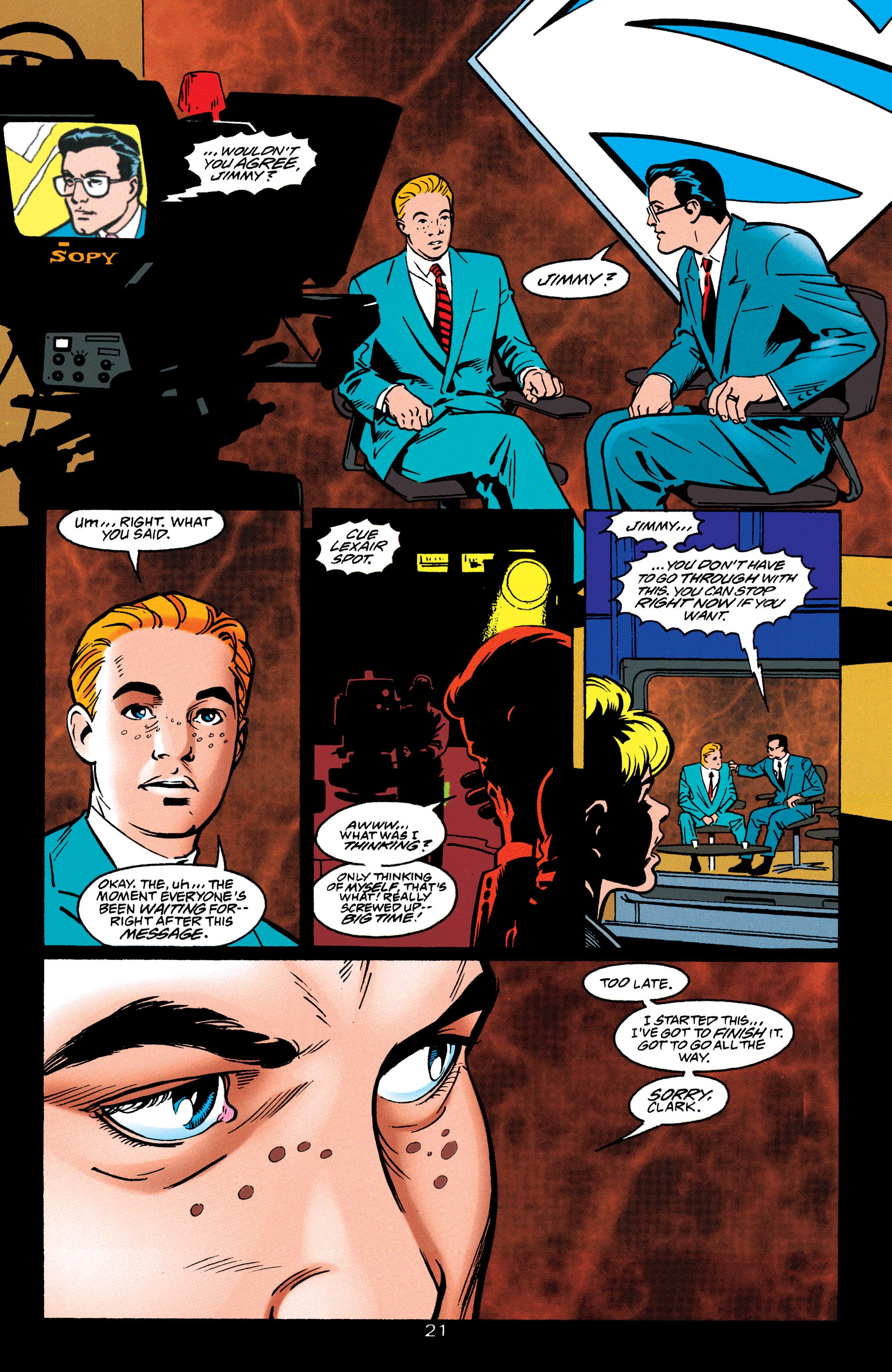 Adventures of Superman (1987) issue 550 - Page 22
