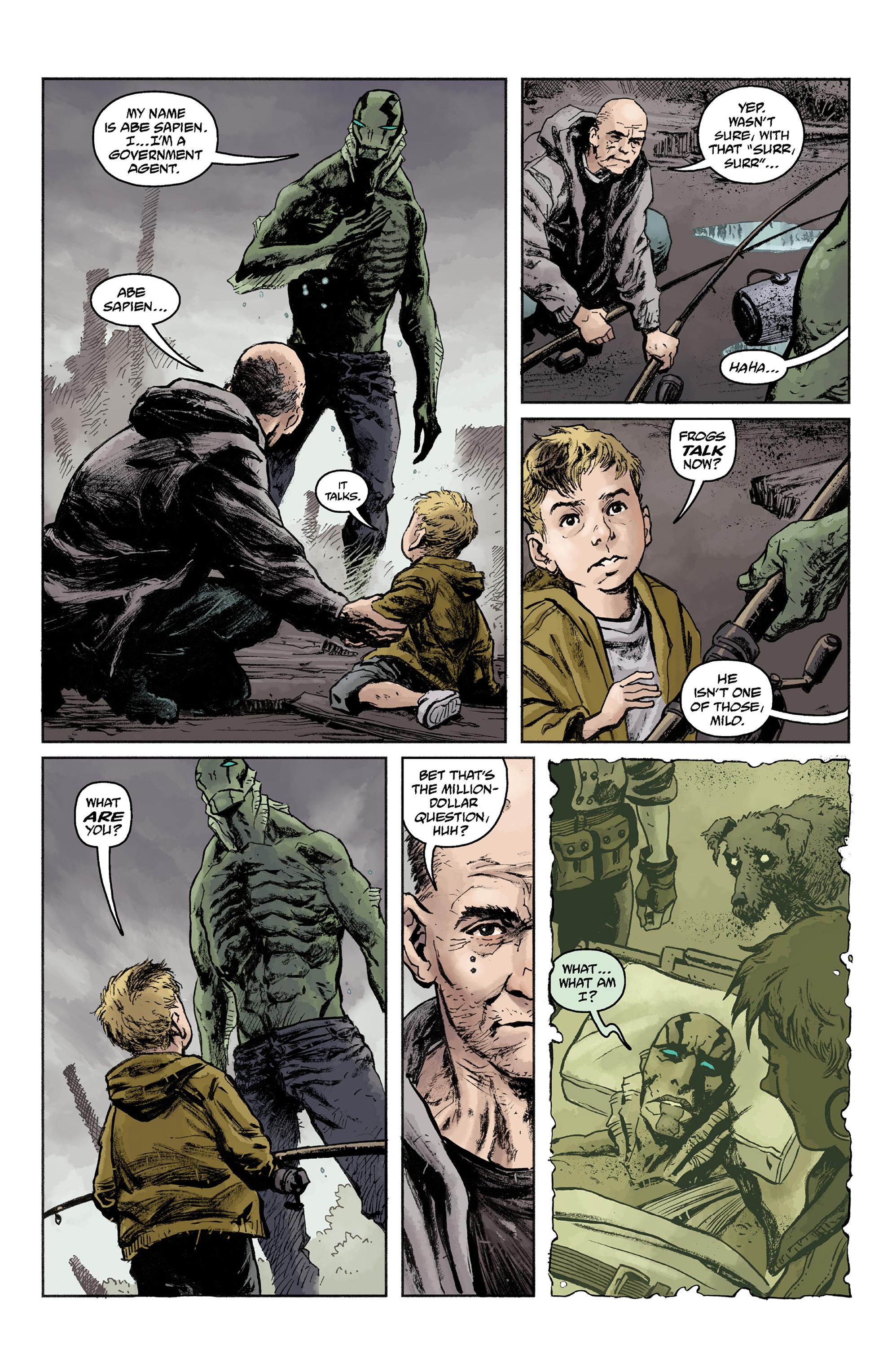 Read online Abe Sapien comic -  Issue #36 - 8