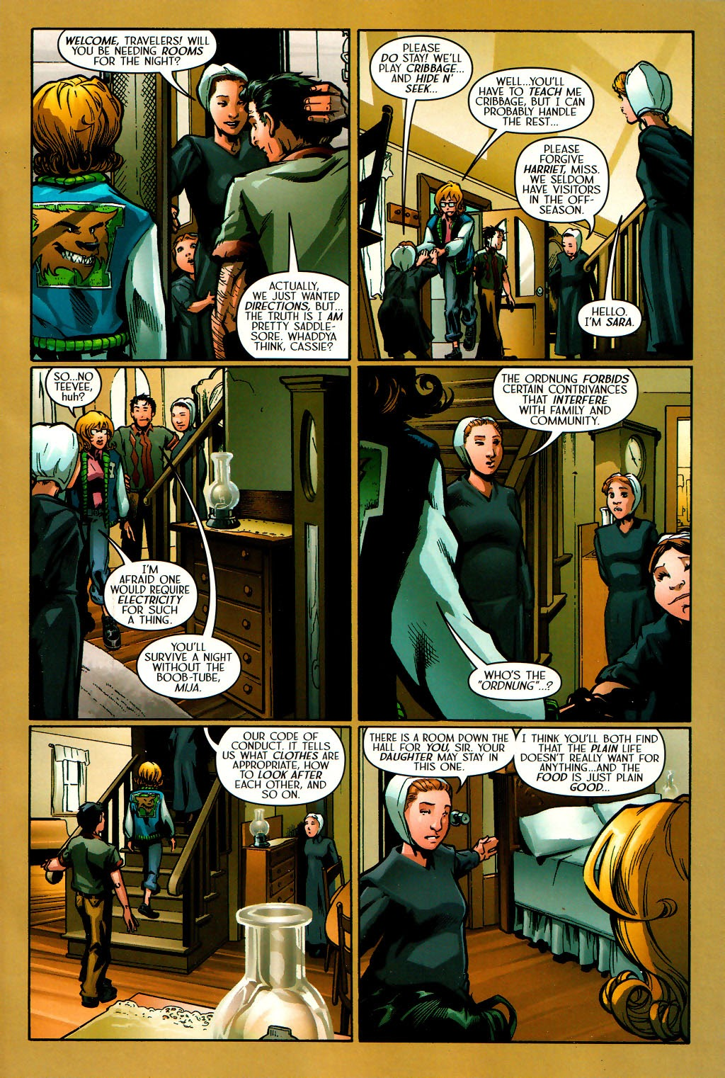 Read online Route 666 comic -  Issue #16 - 11