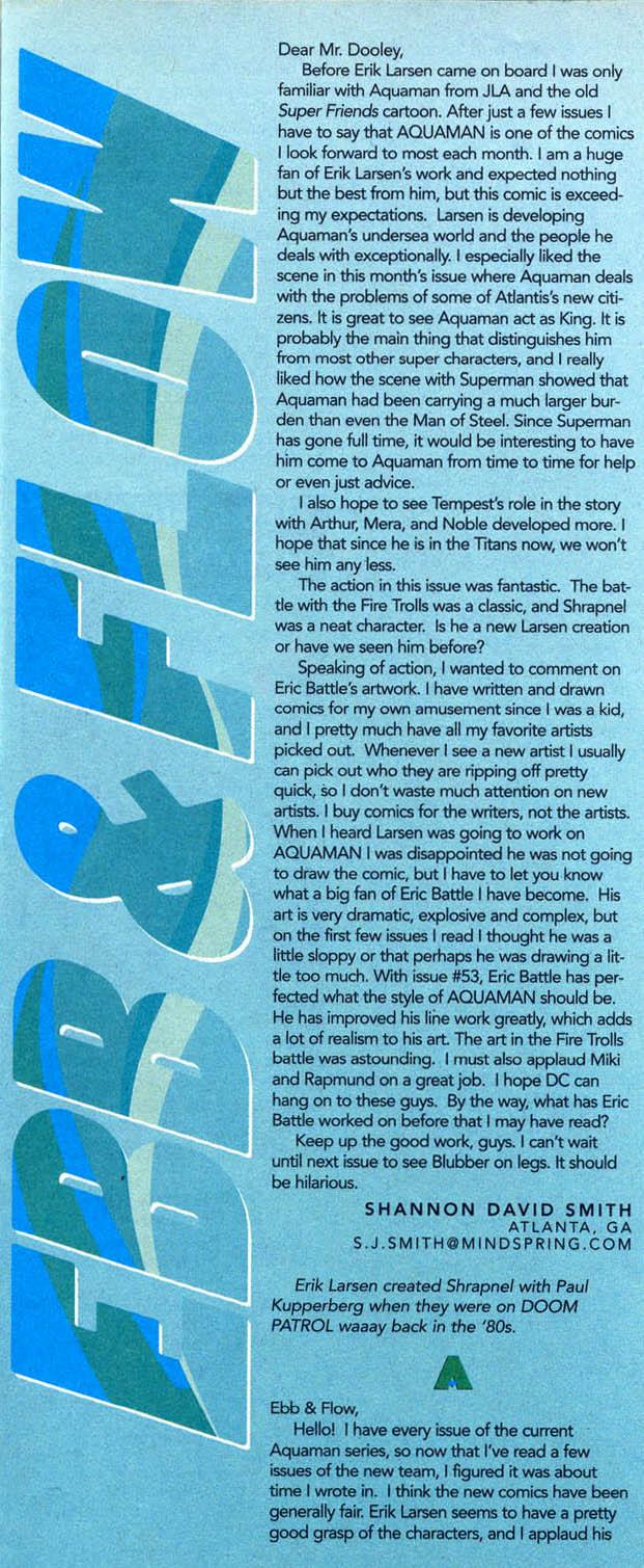 Read online Aquaman (1994) comic -  Issue #58 - 23