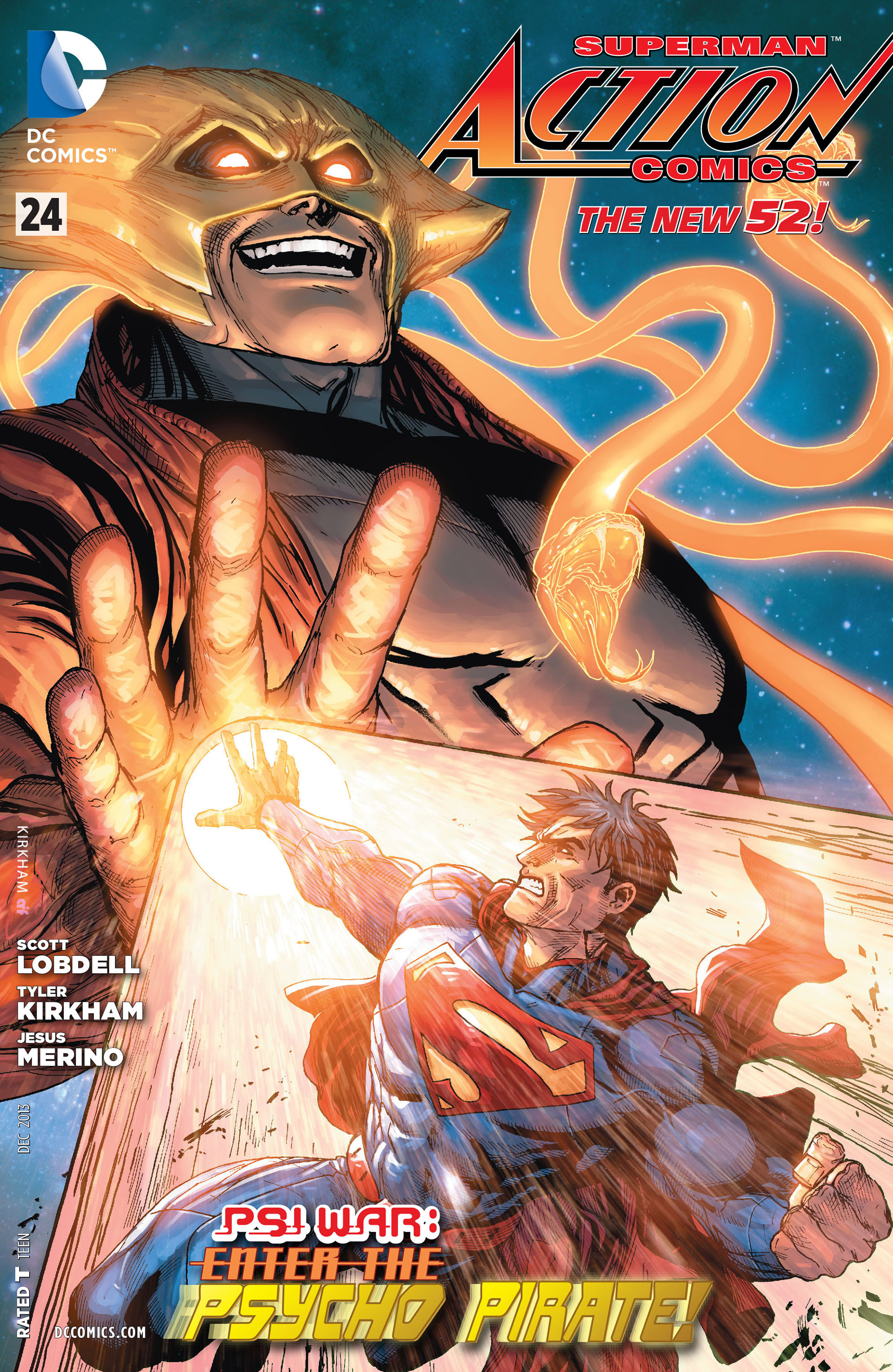 Read online Action Comics (2011) comic -  Issue #24 - 1
