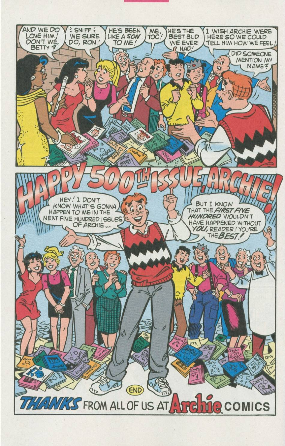 Read online Archie (1960) comic -  Issue #500 - 7