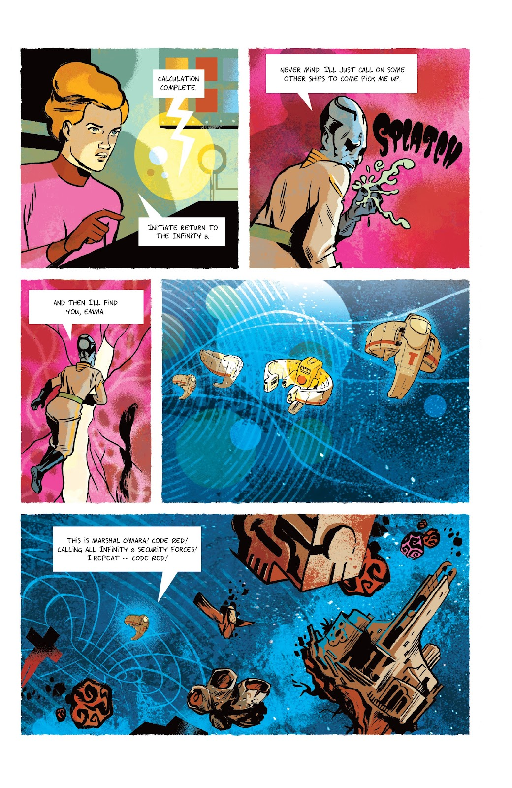 Read online Infinity 8 comic -  Issue #9 - 20