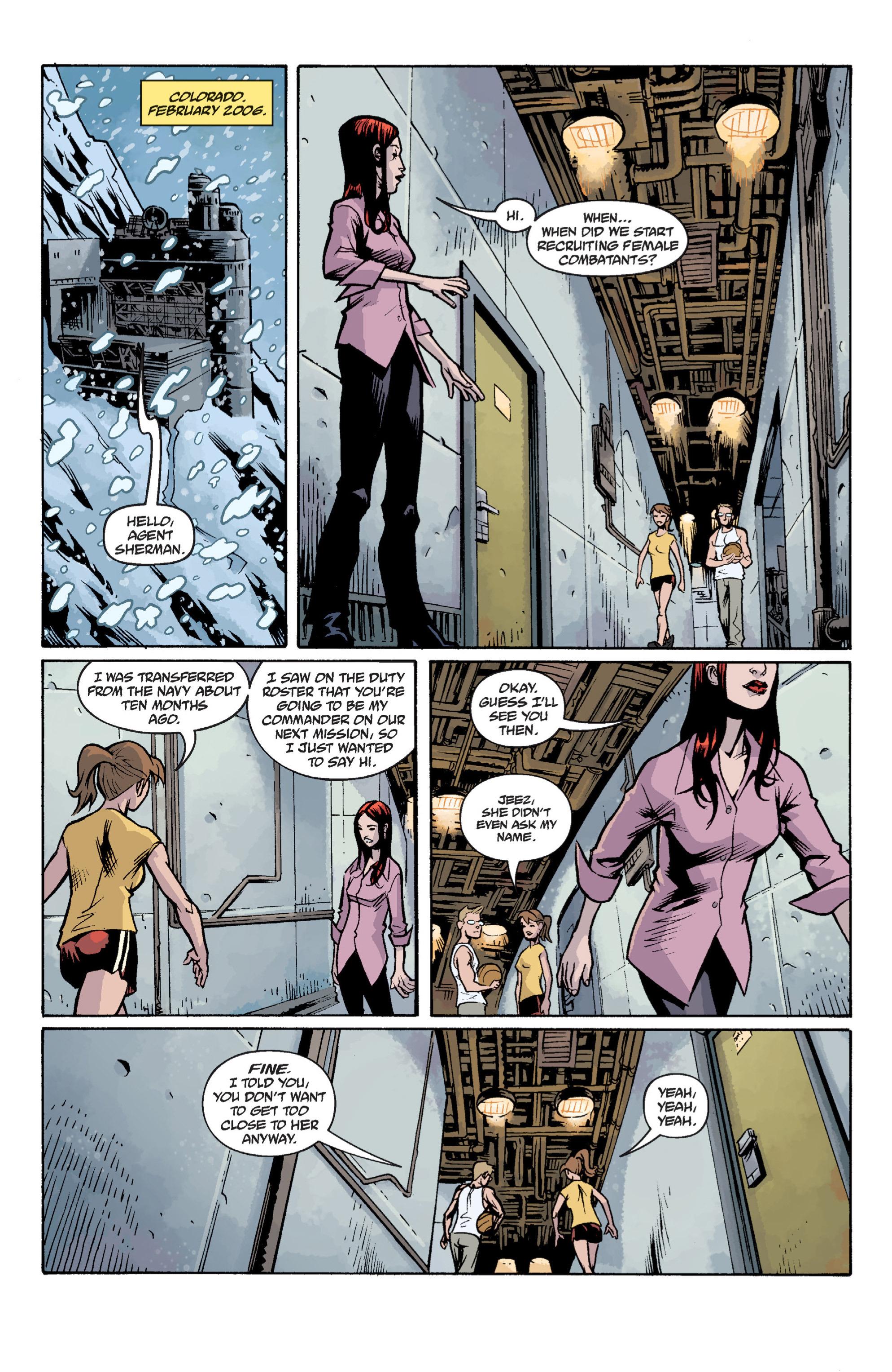 Read online B.P.R.D. (2003) comic -  Issue # TPB 12 - 113