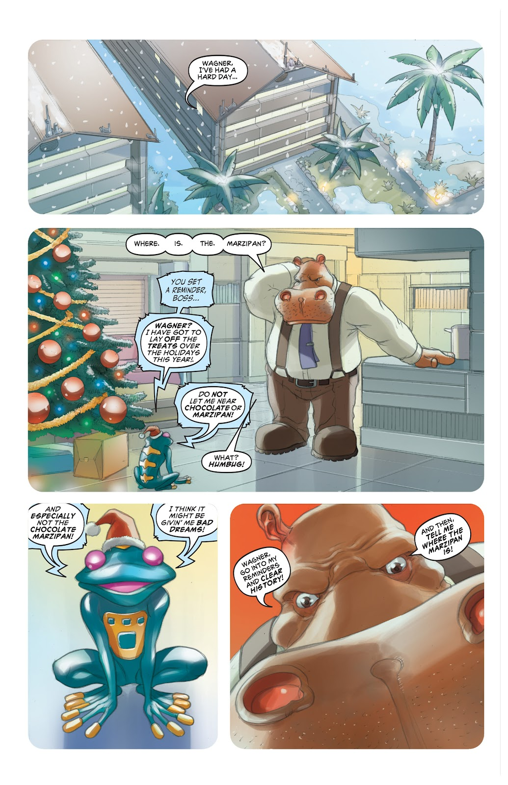 Read online Elephantmen 2261 Season Two: The Pentalion Job comic -  Issue # TPB - 117