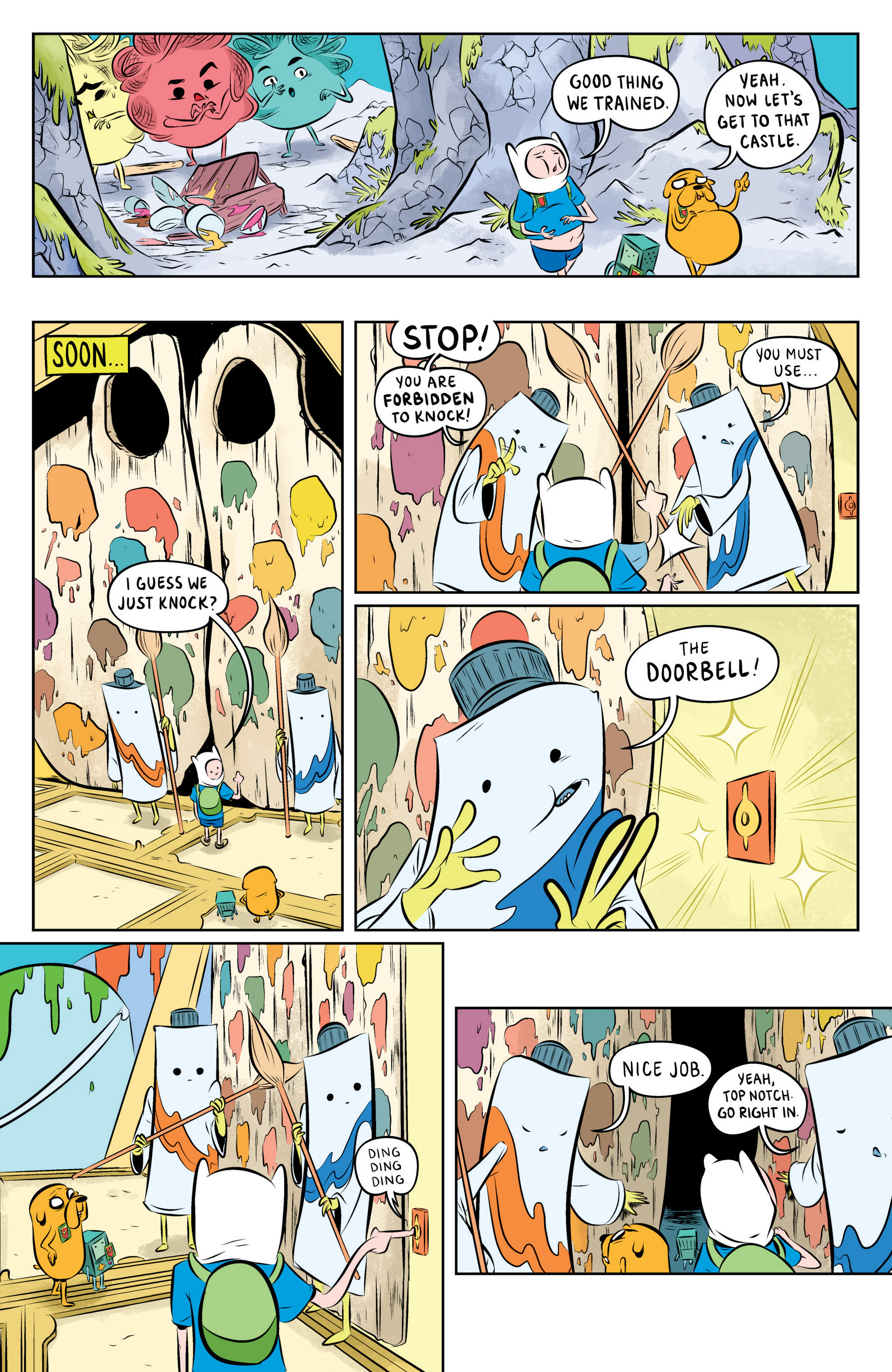 Read online Adventure Time: The Flip Side comic -  Issue #1 - 24