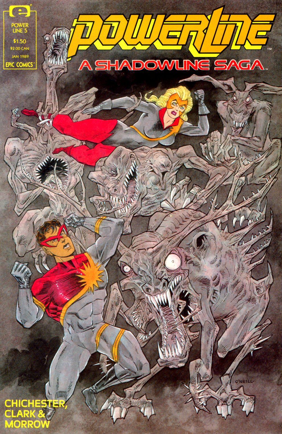 Read online Powerline comic -  Issue #5 - 1