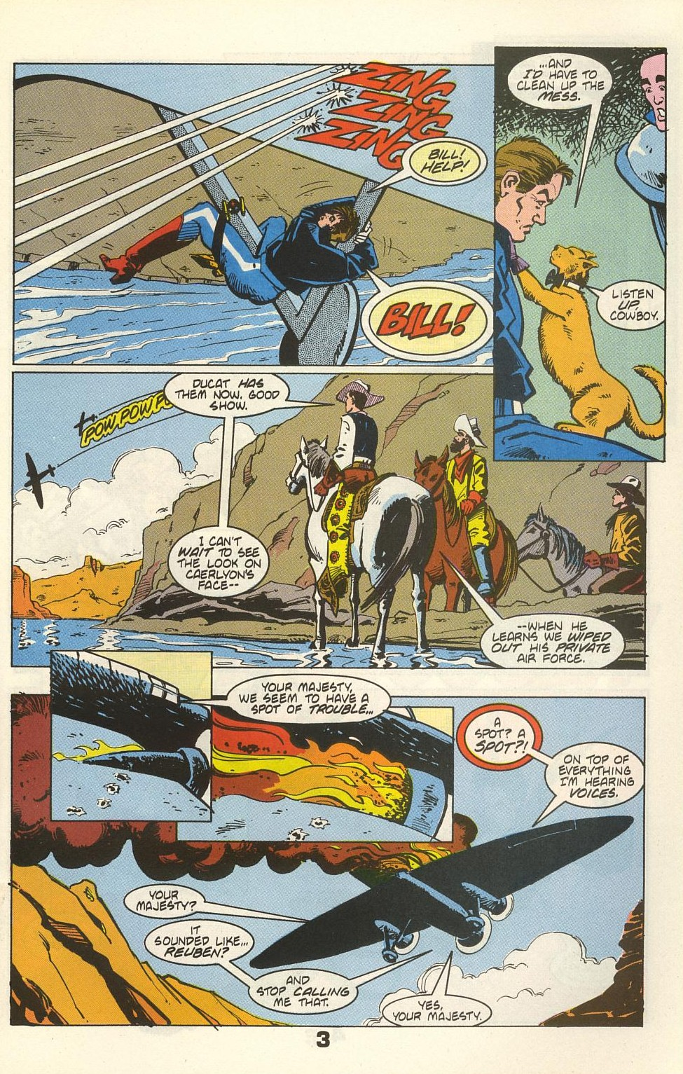 Read online American Flagg! comic -  Issue #36 - 5