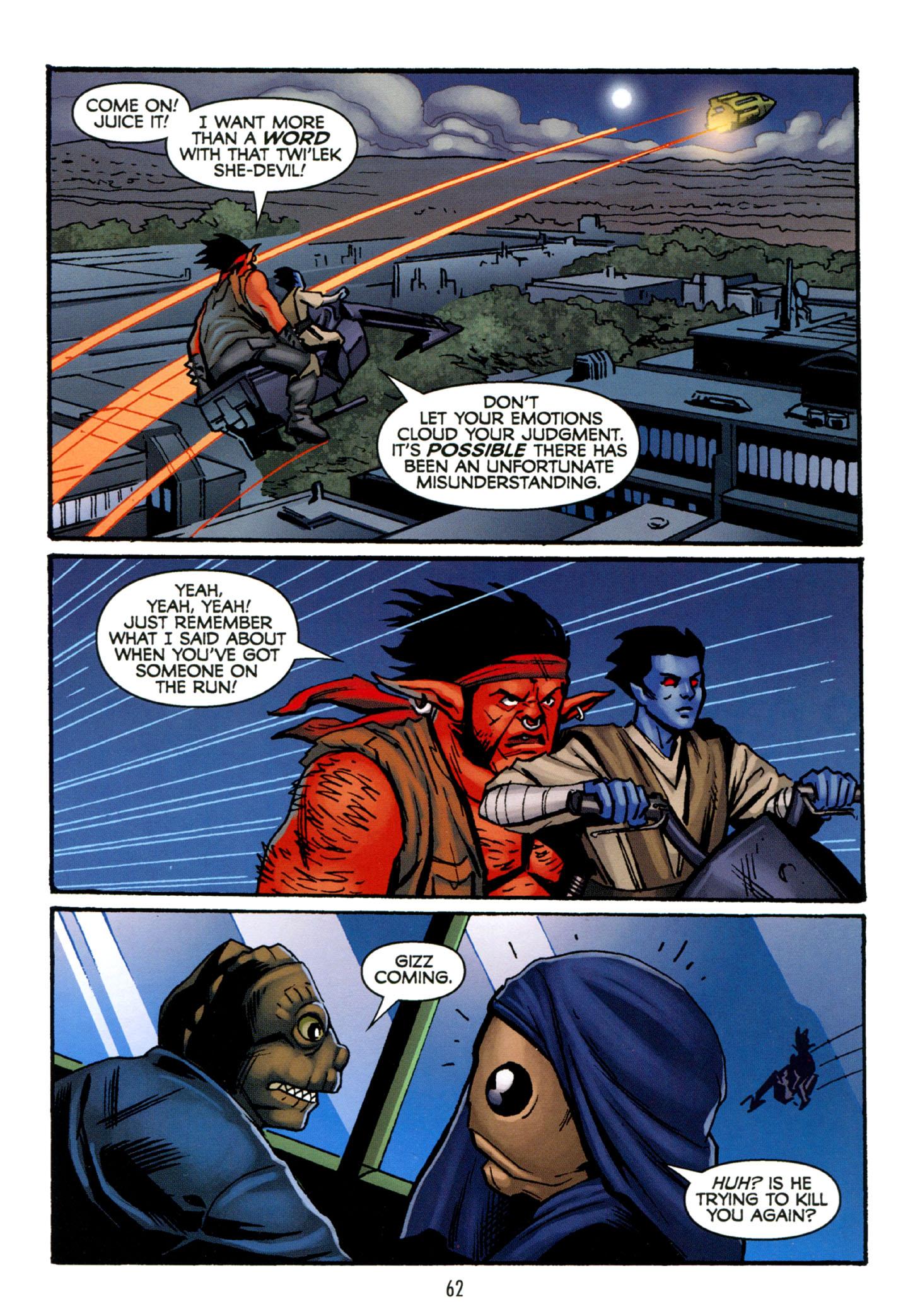 Read online Star Wars: The Clone Wars - Strange Allies comic -  Issue # Full - 63