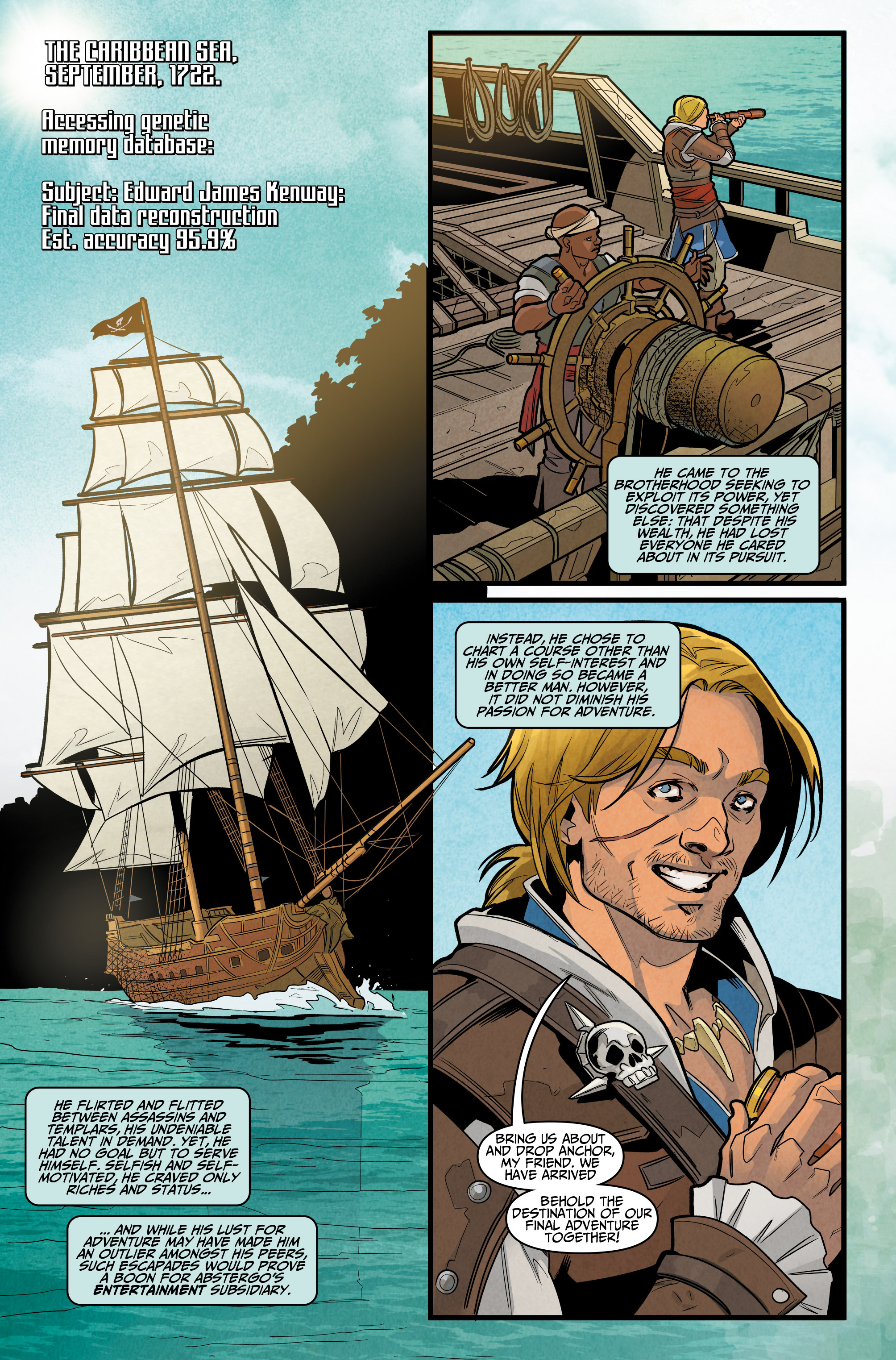 Read online Assassin's Creed: Reflections comic -  Issue #3 - 4