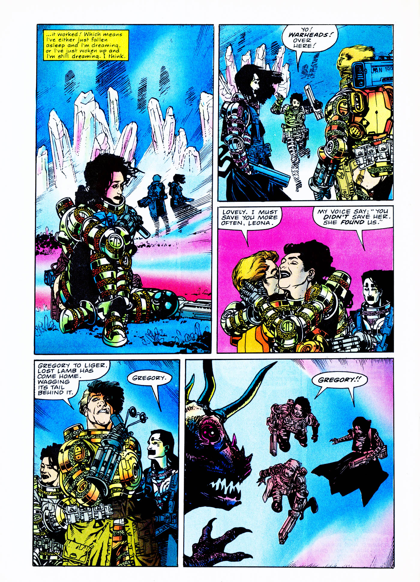 Read online Overkill comic -  Issue #2 - 32