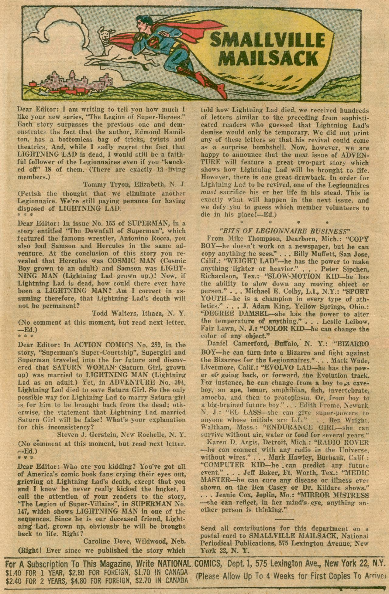 Read online Adventure Comics (1938) comic -  Issue #311 - 19