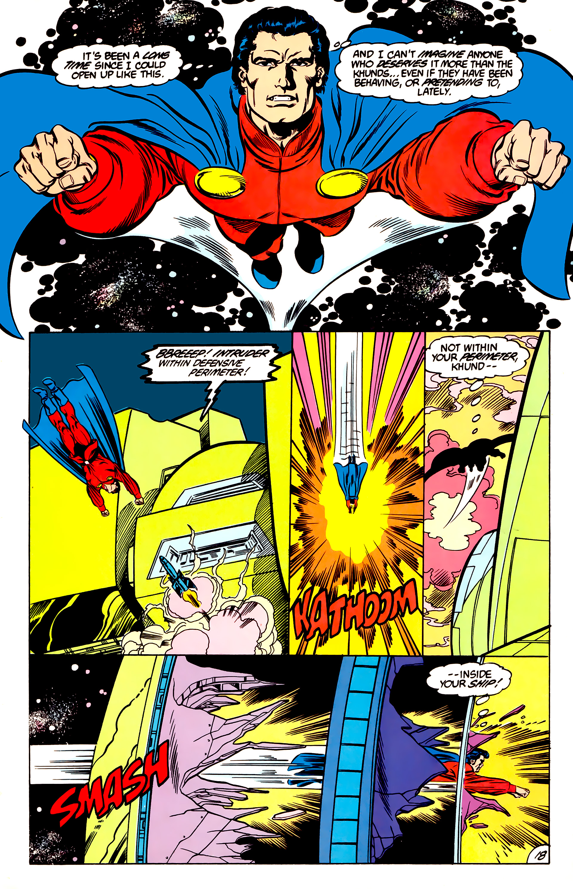 Legion of Super-Heroes (1984) 47 Page 18