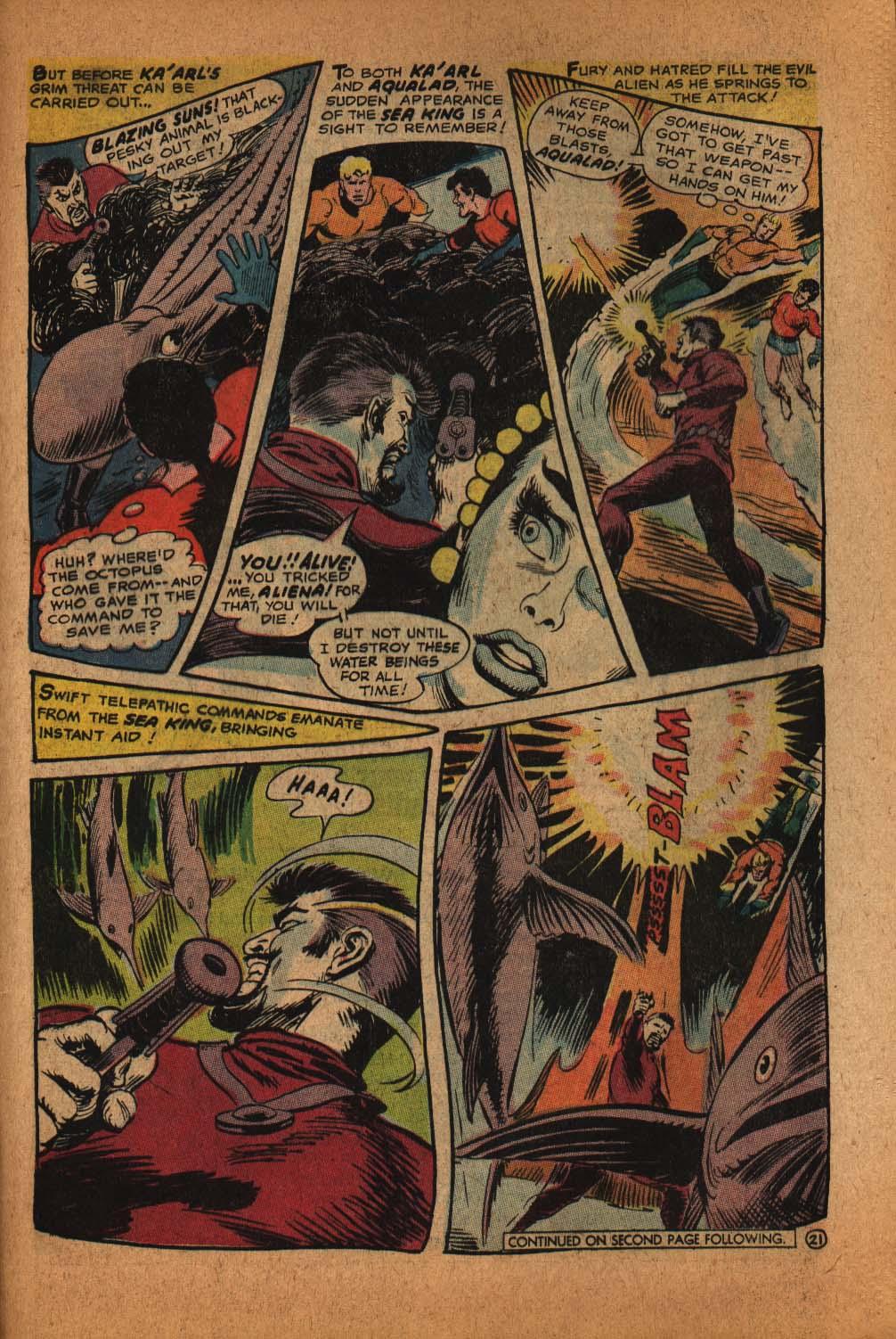 Read online Aquaman (1962) comic -  Issue #39 - 30