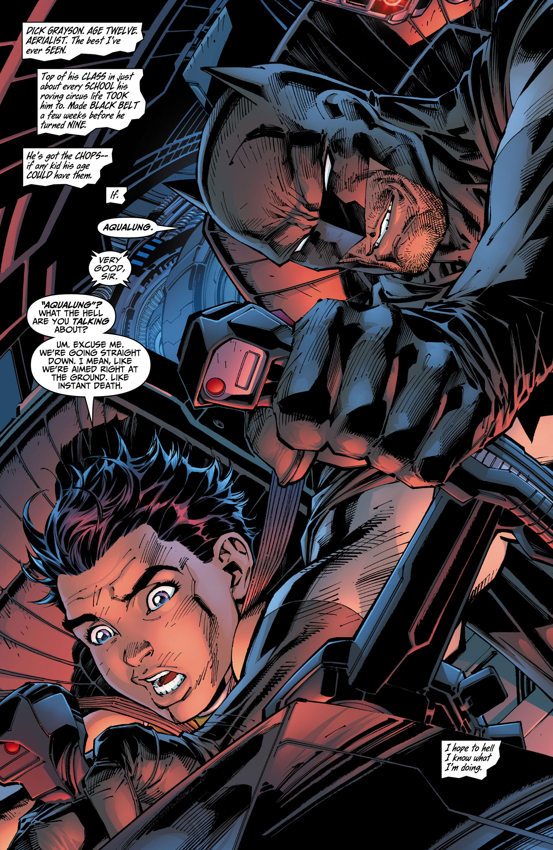Read online All Star Batman & Robin, The Boy Wonder comic -  Issue #3 - 17