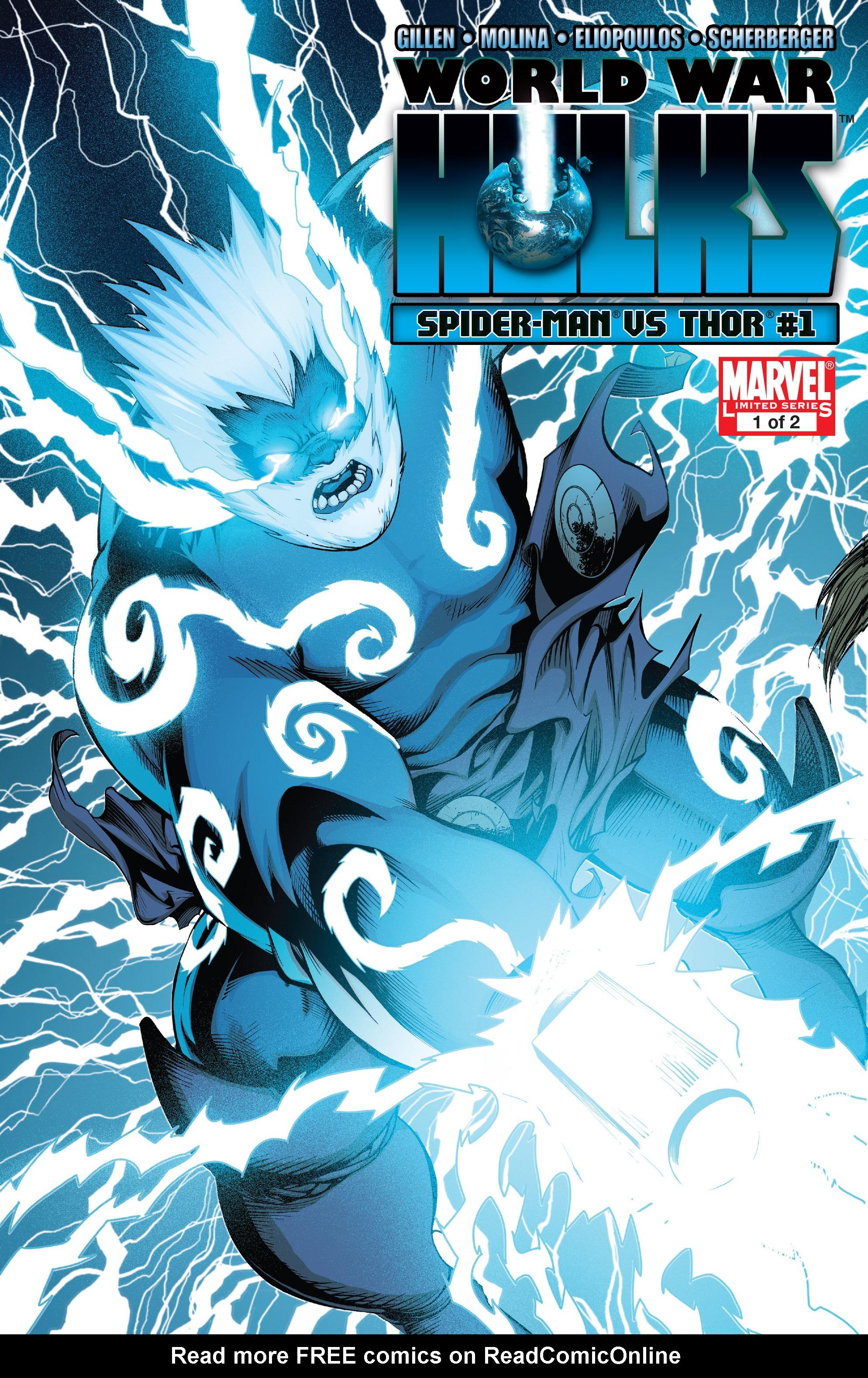 Read online World War Hulks: Spider-Man vs. Thor comic -  Issue #1 - 1