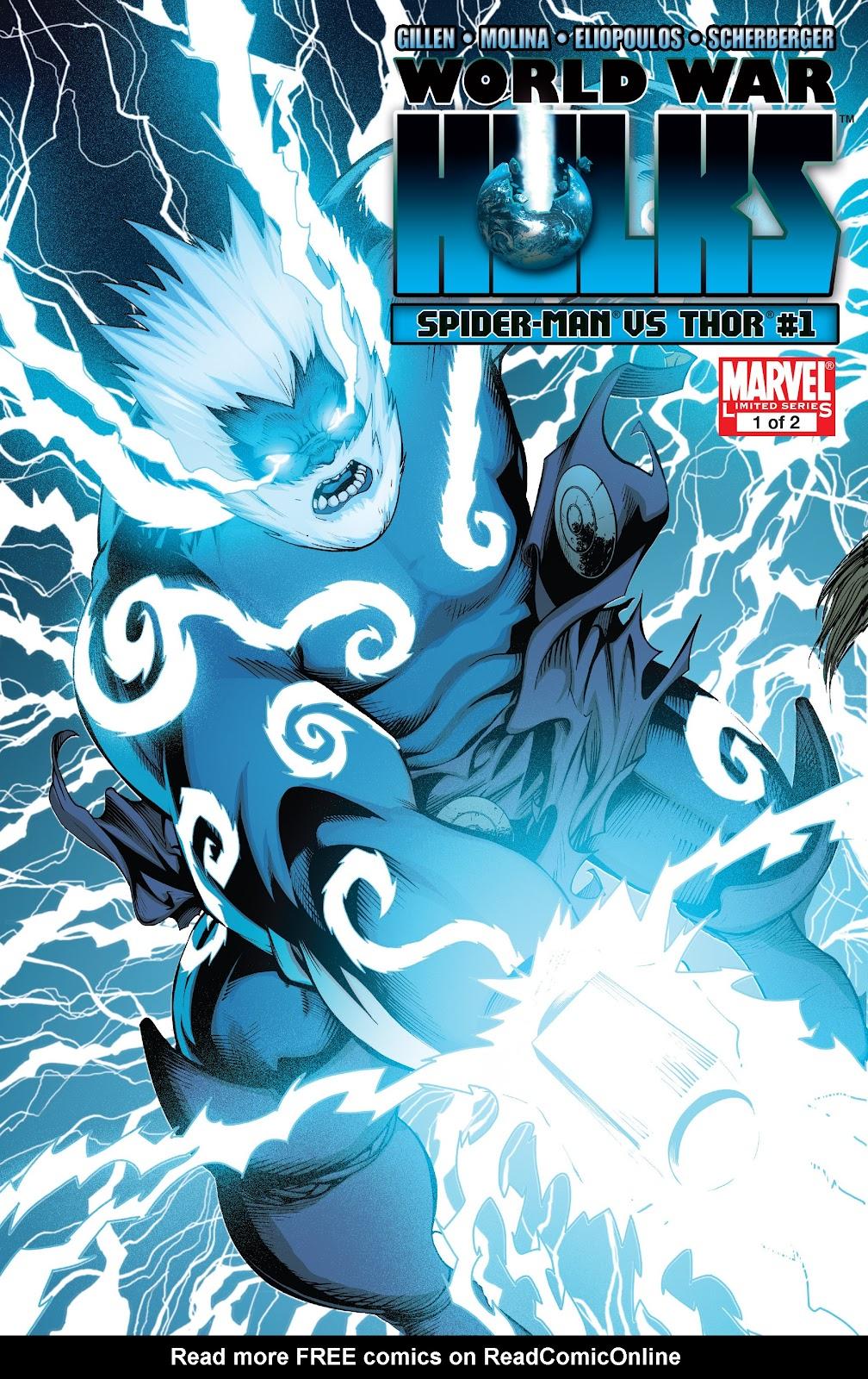 World War Hulks: Spider-Man vs. Thor Issue #1 #1 - English 1