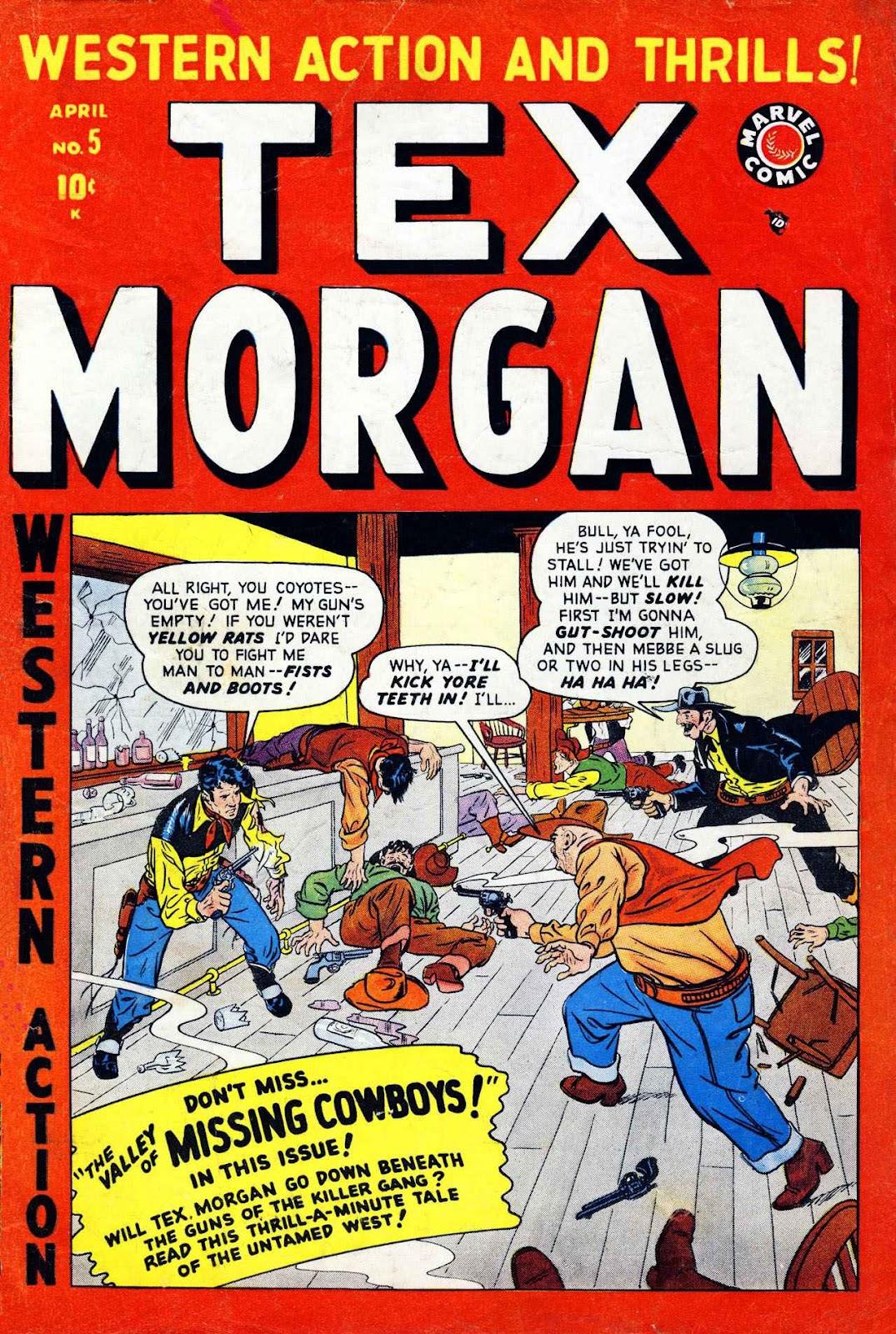 Tex Morgan issue 5 - Page 1