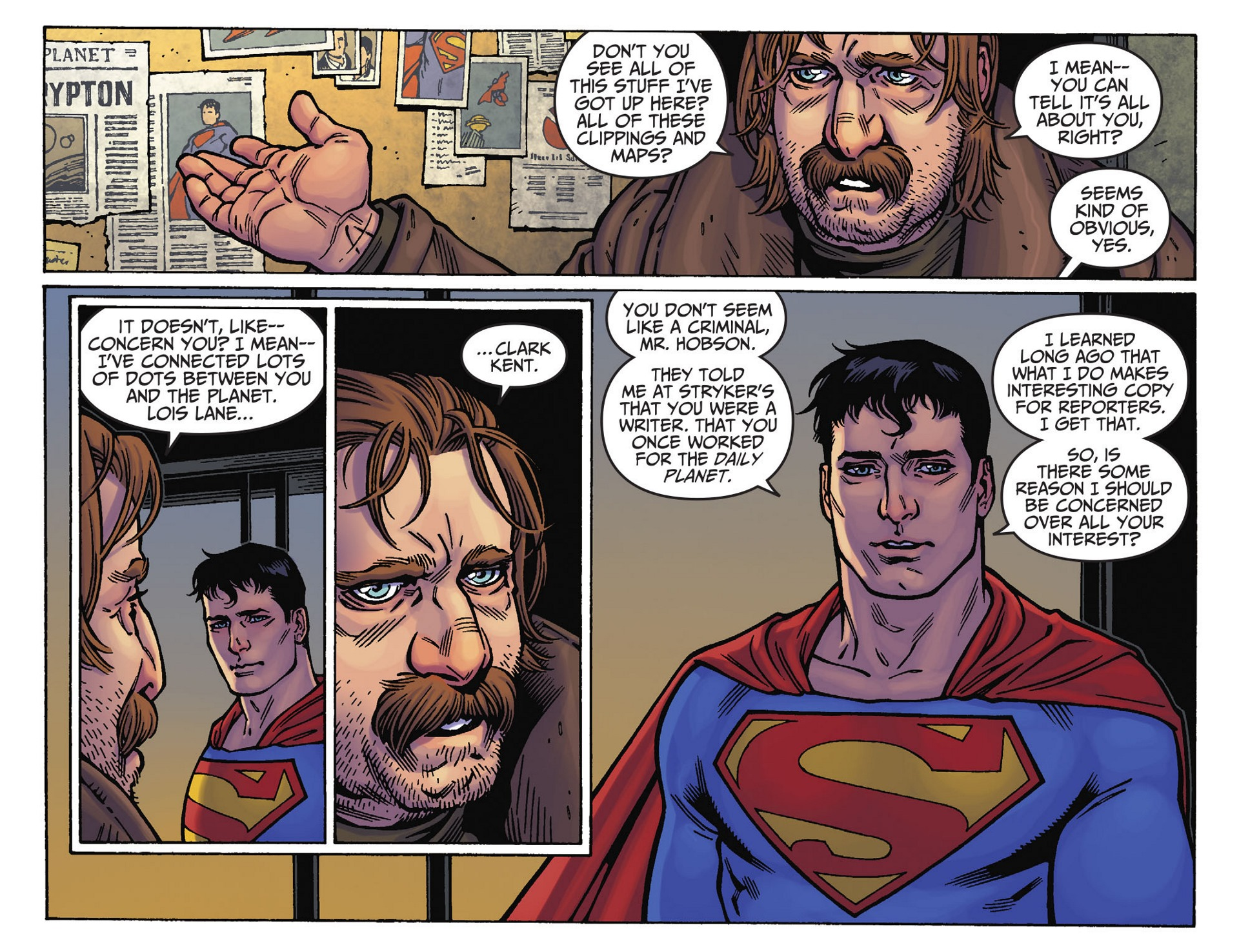 Read online Adventures of Superman [I] comic -  Issue #39 - 19