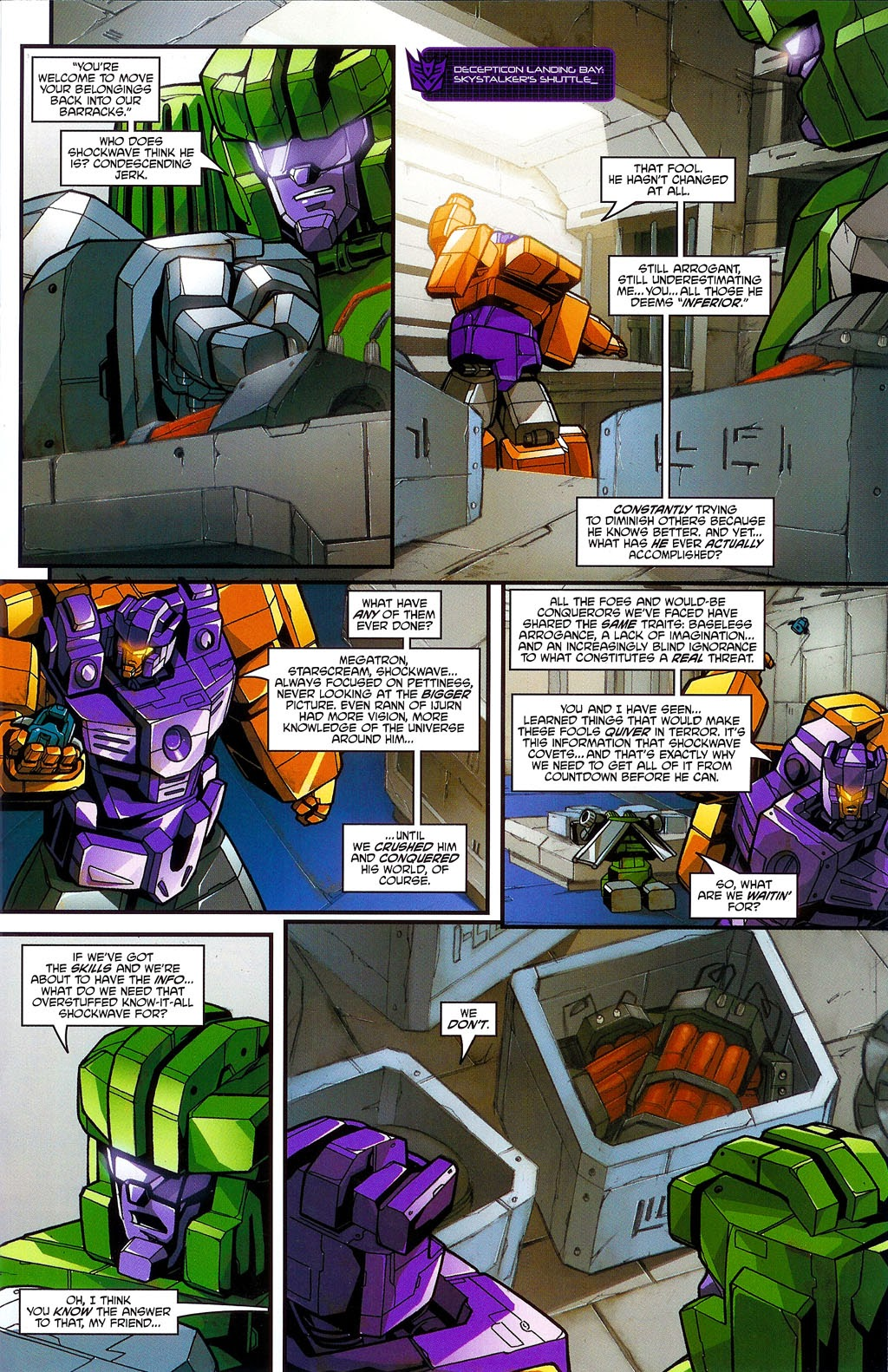 Read online Transformers: Micromasters comic -  Issue #3 - 13