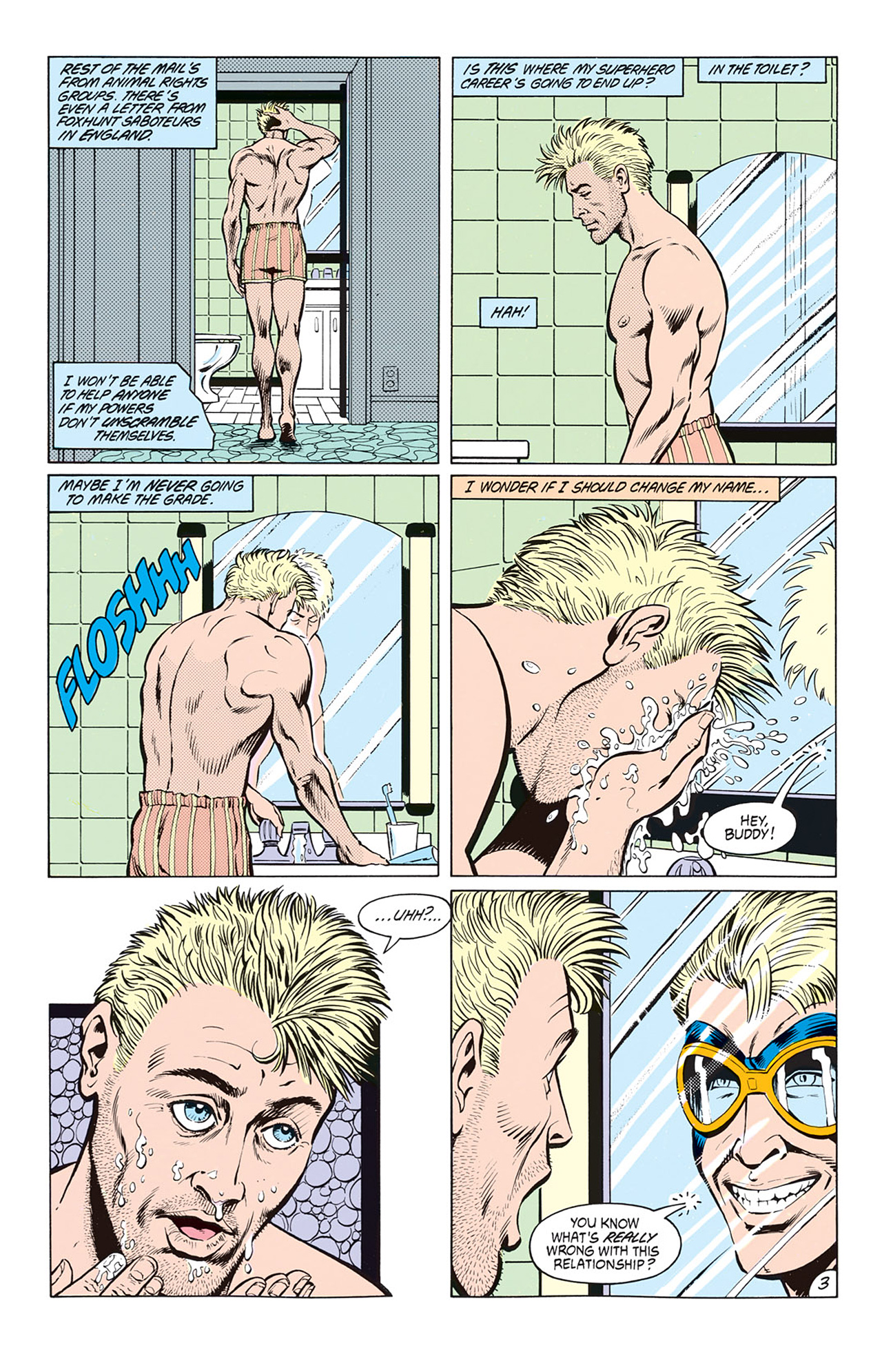 Read online Animal Man (1988) comic -  Issue #8 - 5