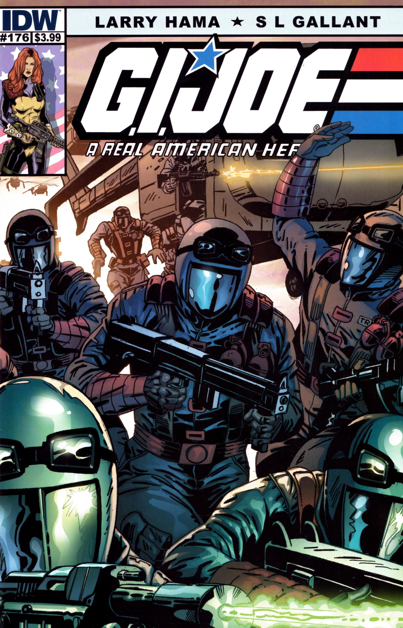 G.I. Joe: A Real American Hero 176 Page 1