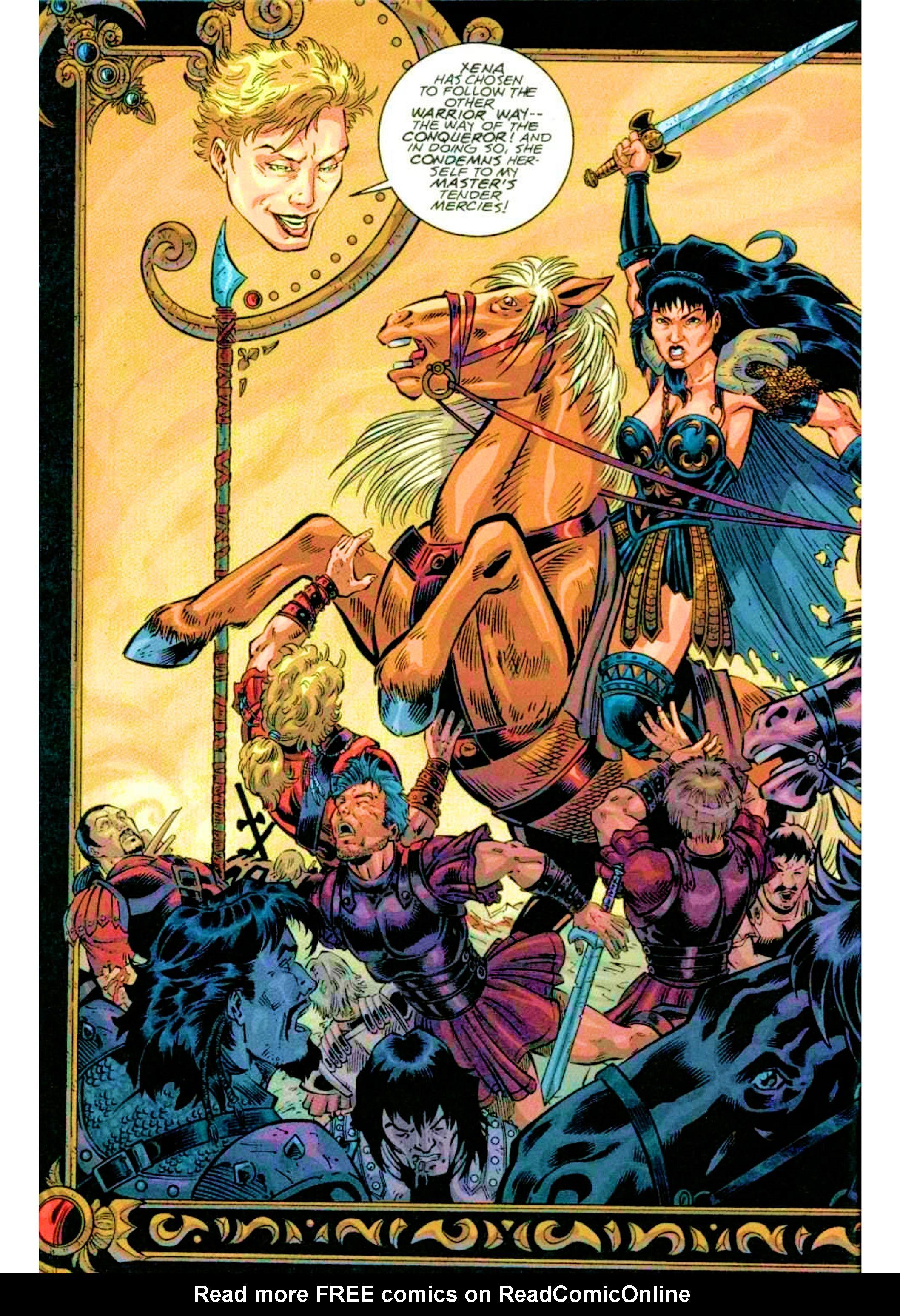 Read online Xena: Warrior Princess (1999) comic -  Issue #2 - 6