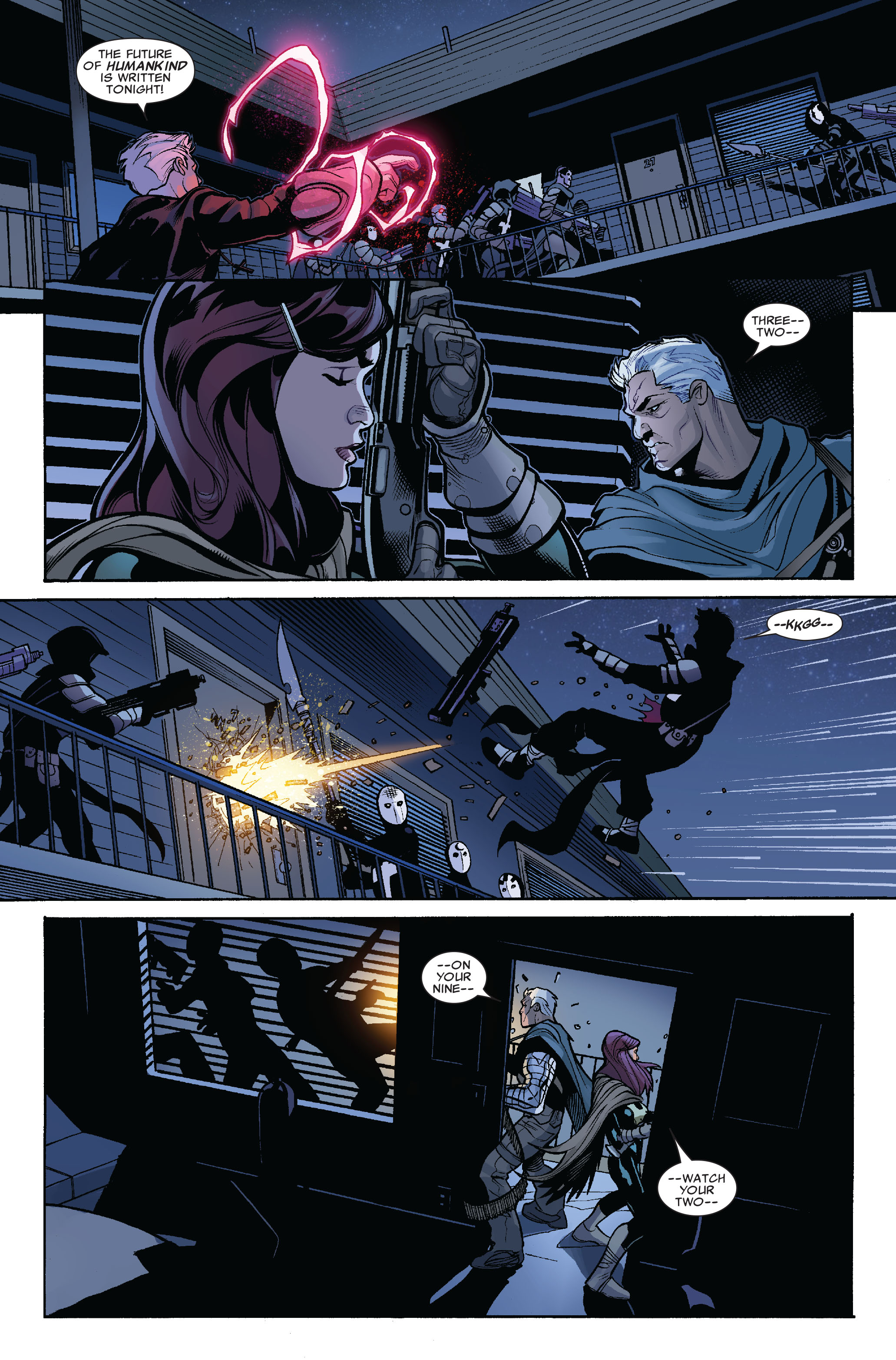 Read online Uncanny X-Men (1963) comic -  Issue #523 - 20