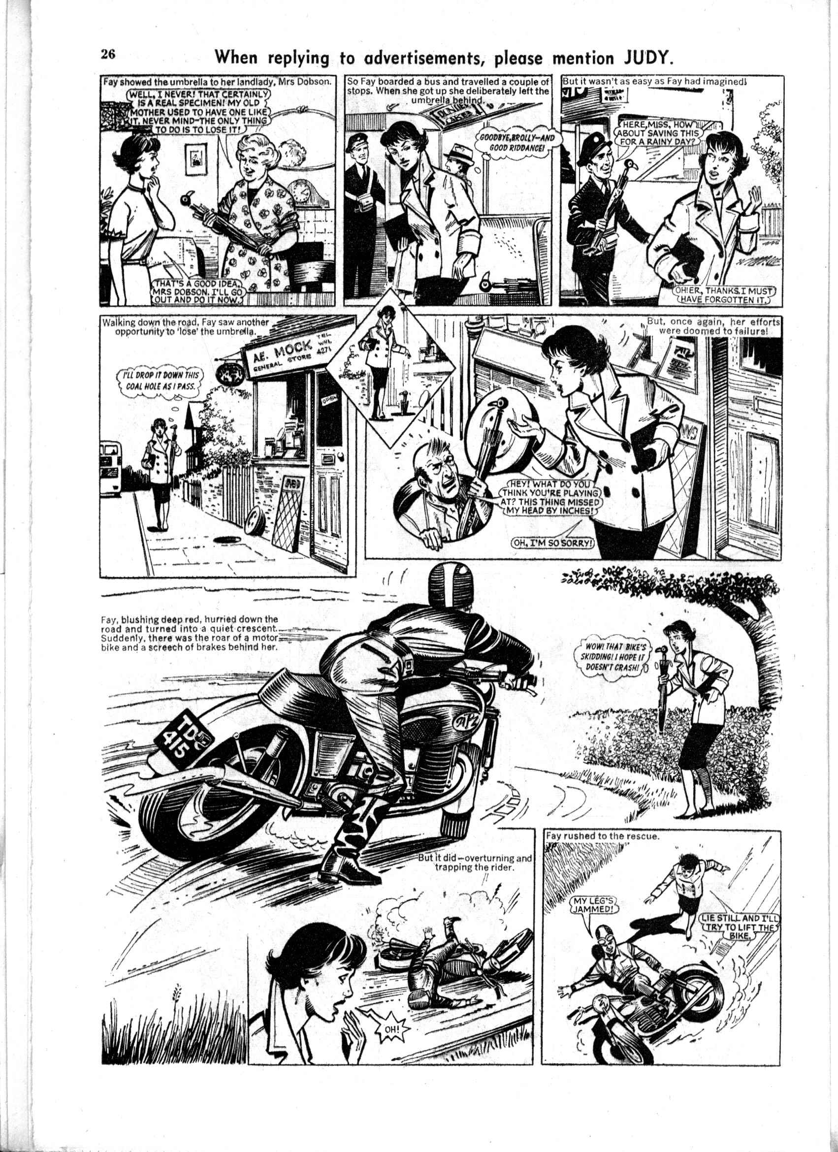 Read online Judy comic -  Issue #168 - 26